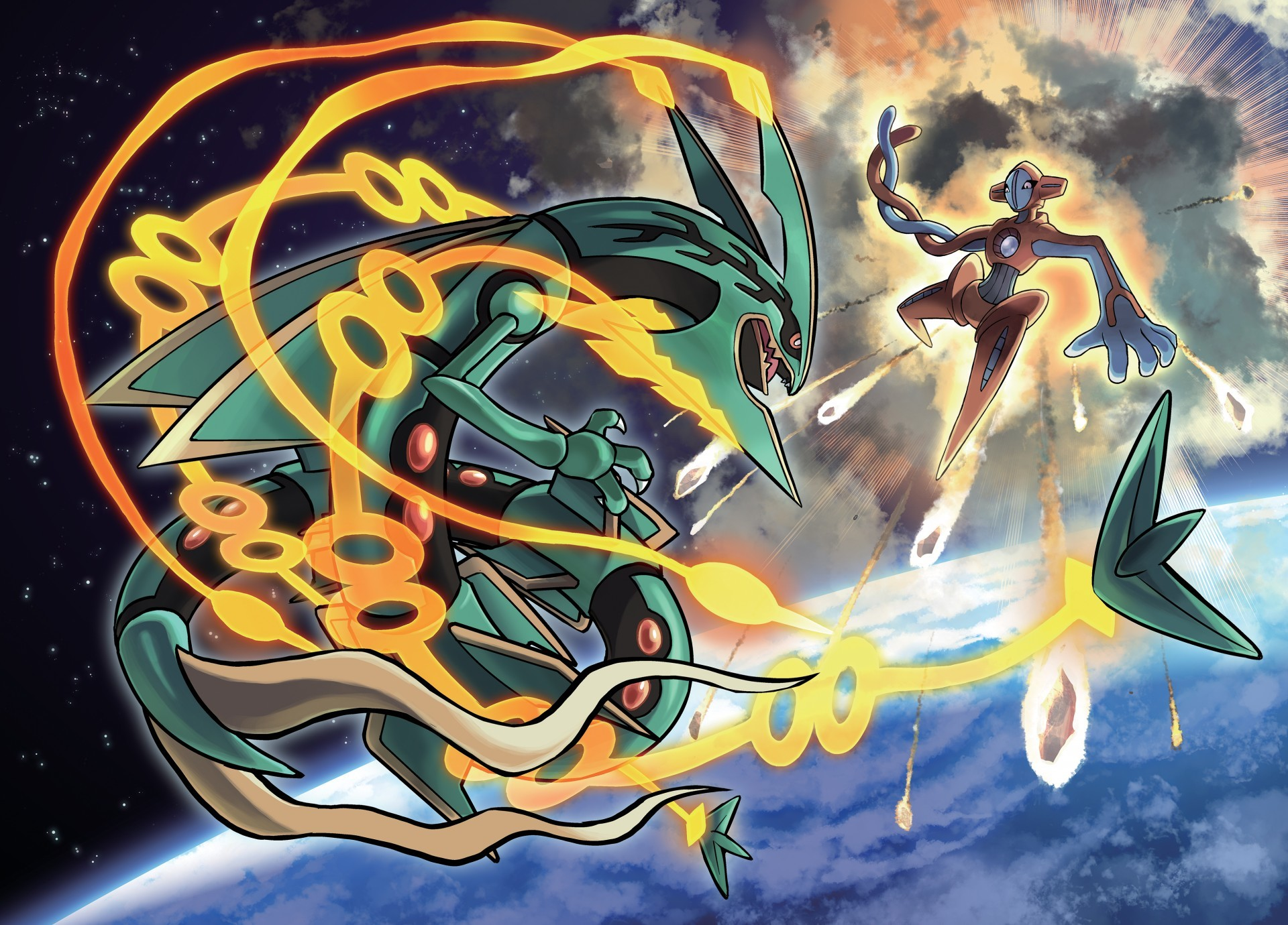 "1920x1380 Rayquaza: The ""Delta Episode"" announced for Pokémon Omega Ruby and Alpha  Sapphire"