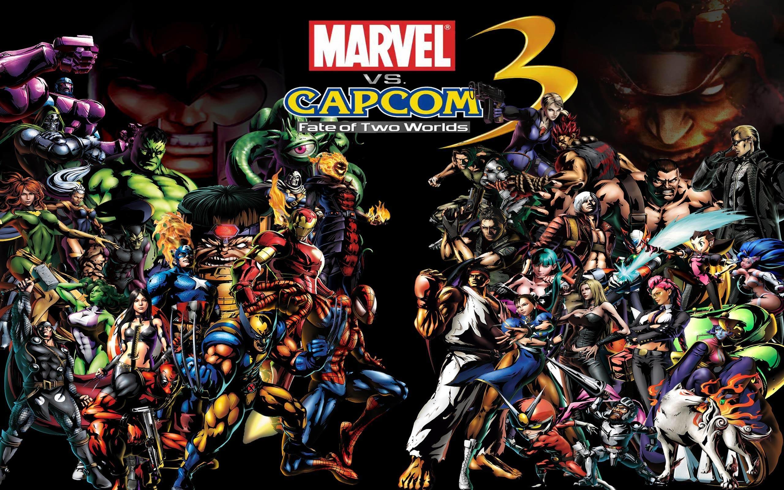 Marvel Vs Capcom Wallpaper 64 Images