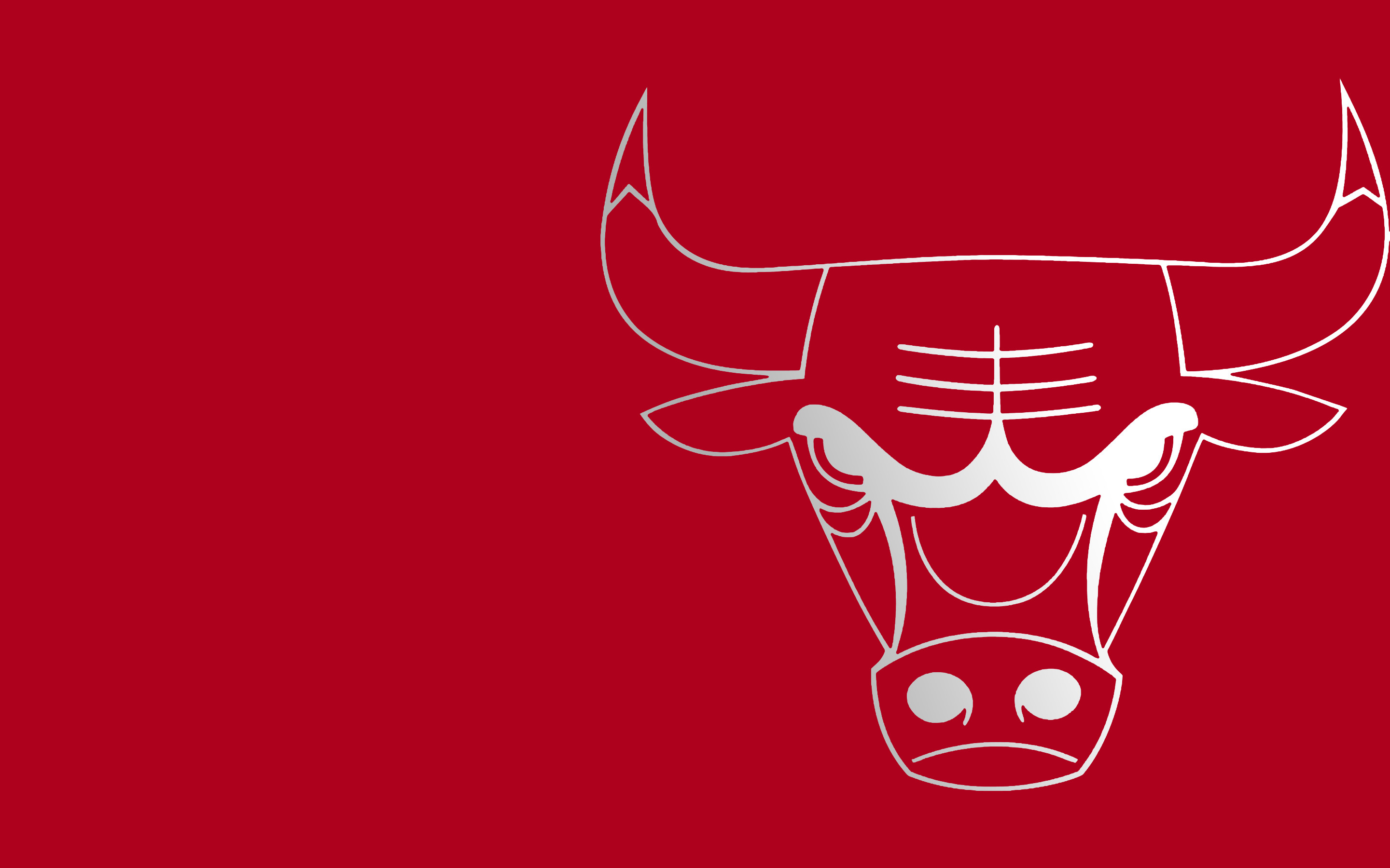 2880x1800 I made a Bulls wallpaper!
