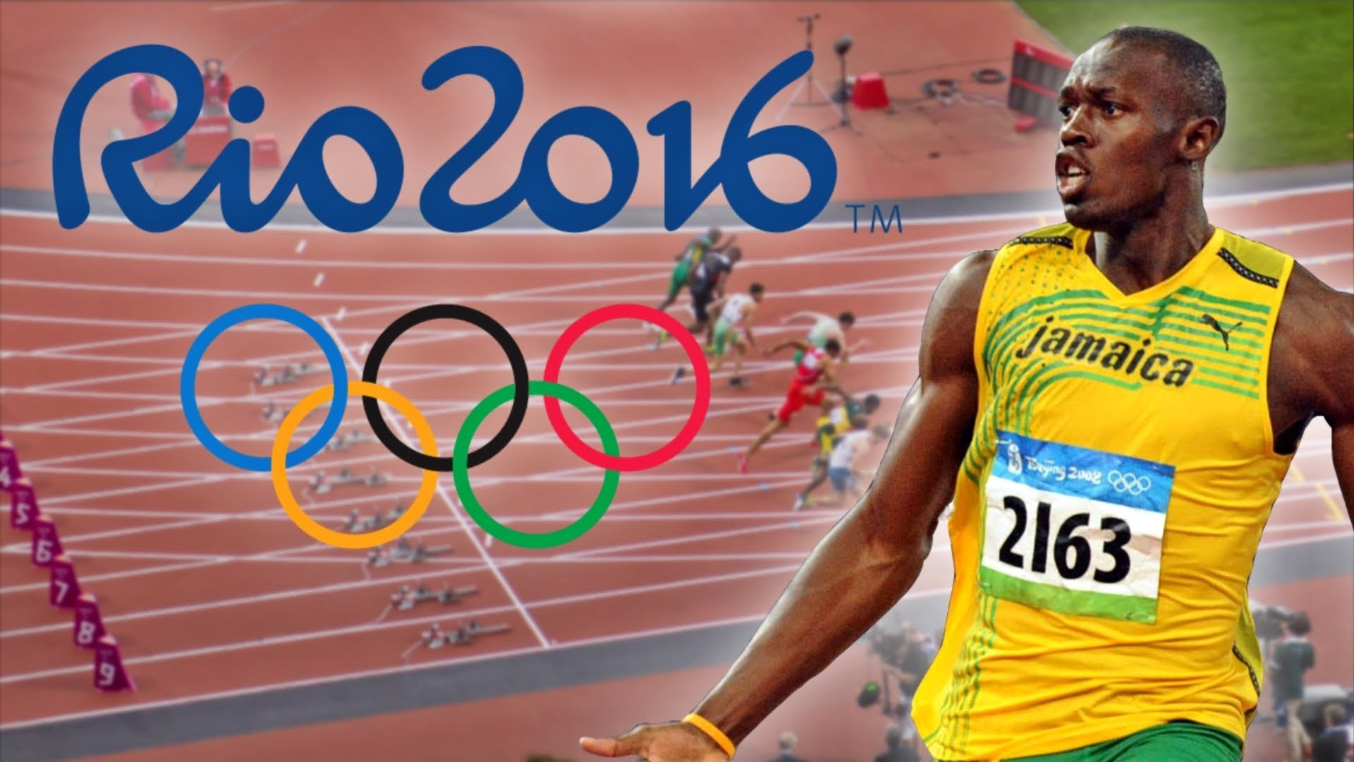 1920x1080 Usain Bolt wins gold medal in his final Olympic race