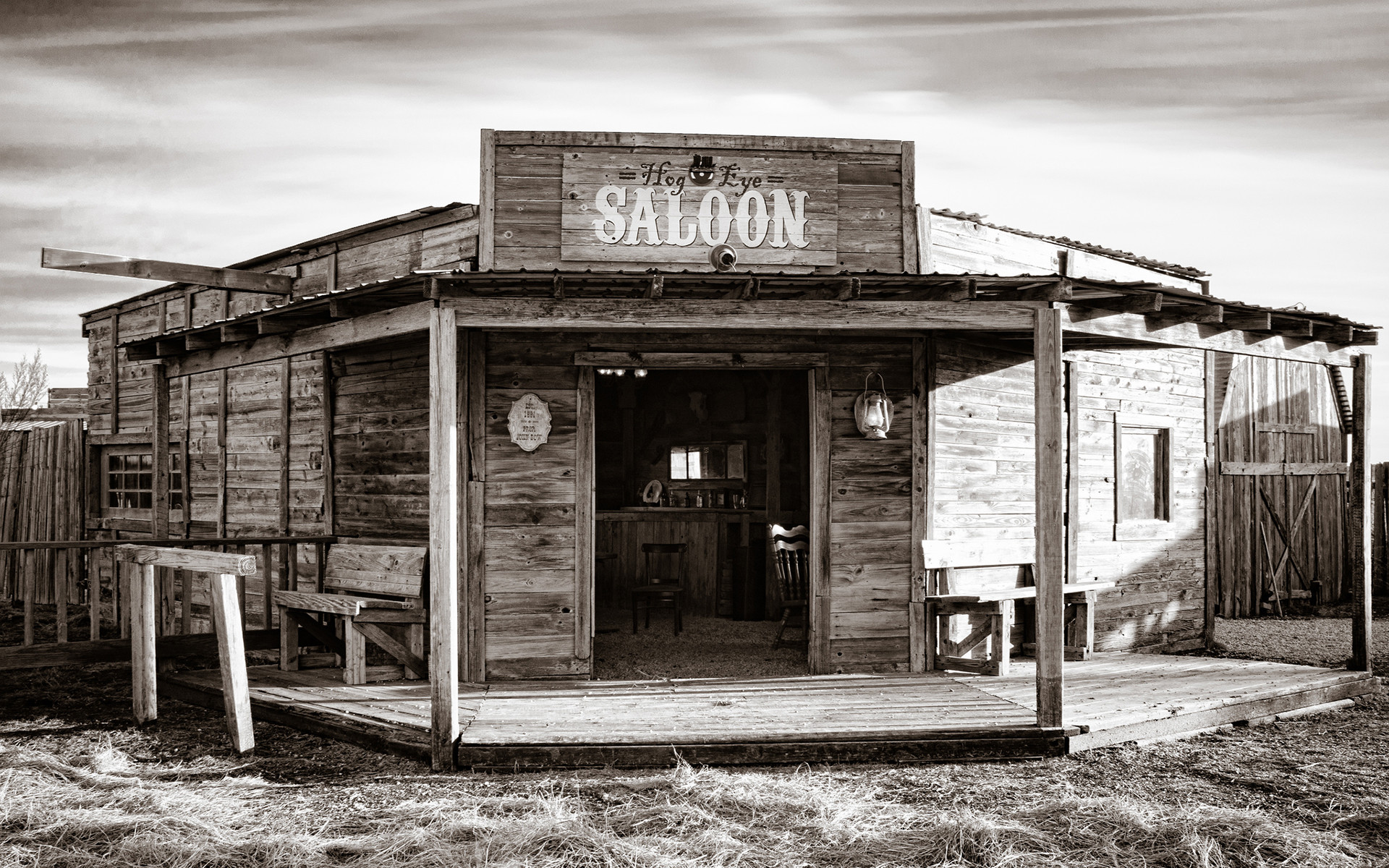1920x1200 Saloon Bar Wild West Sepia american retro world history drinks architecture  buildings black white bw wallpaper |  | 40343 | WallpaperUP