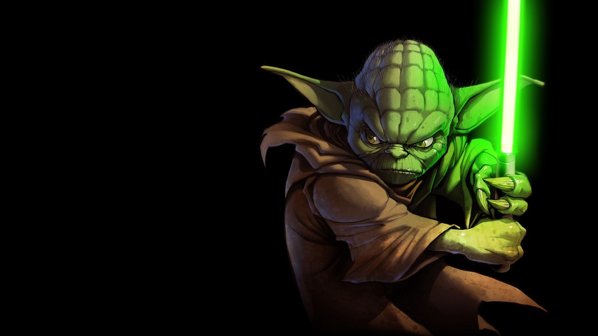 1920x1080 Star Wars Yoda Wallpaper