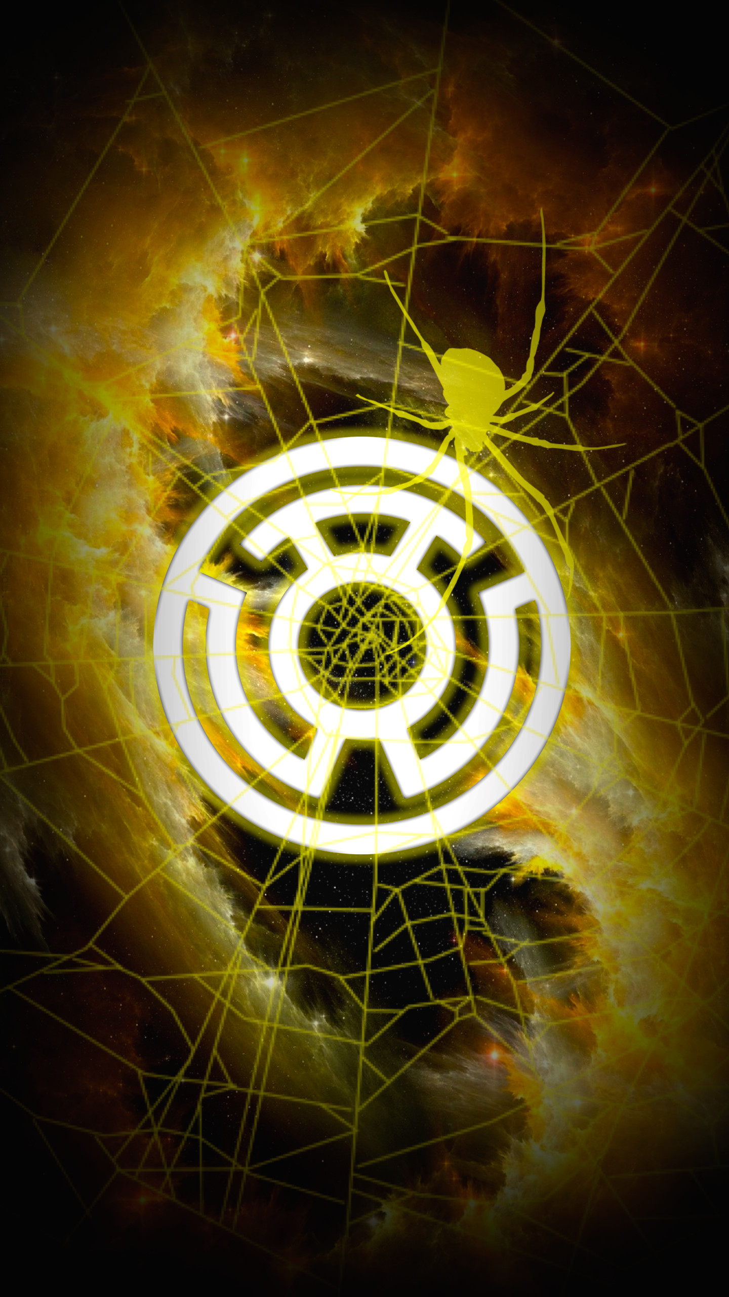 1440x2560 Sinestro Corps (Fear)
