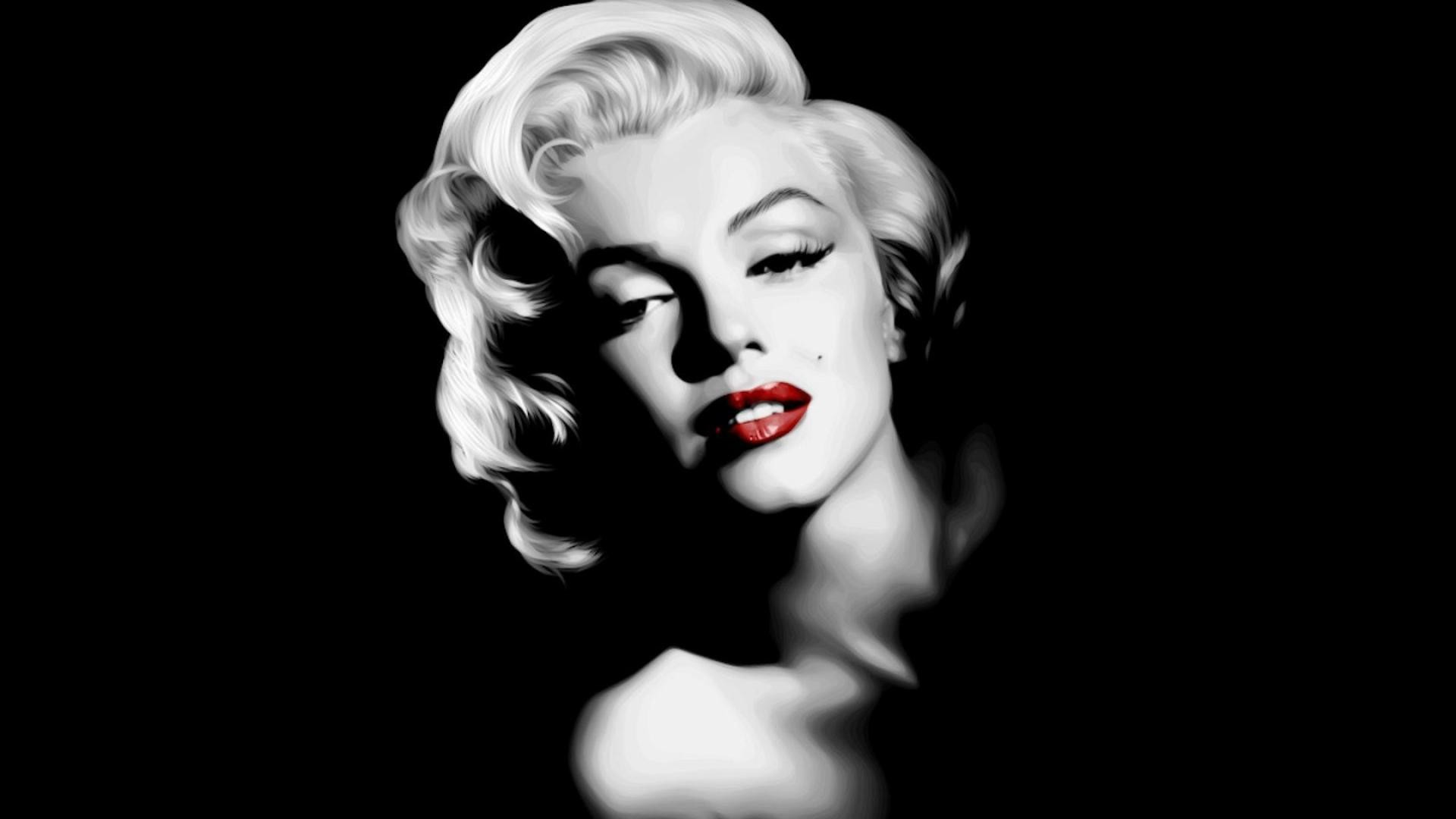 1920x1080 Marilyn Monroe Poster Black And White Image Tips