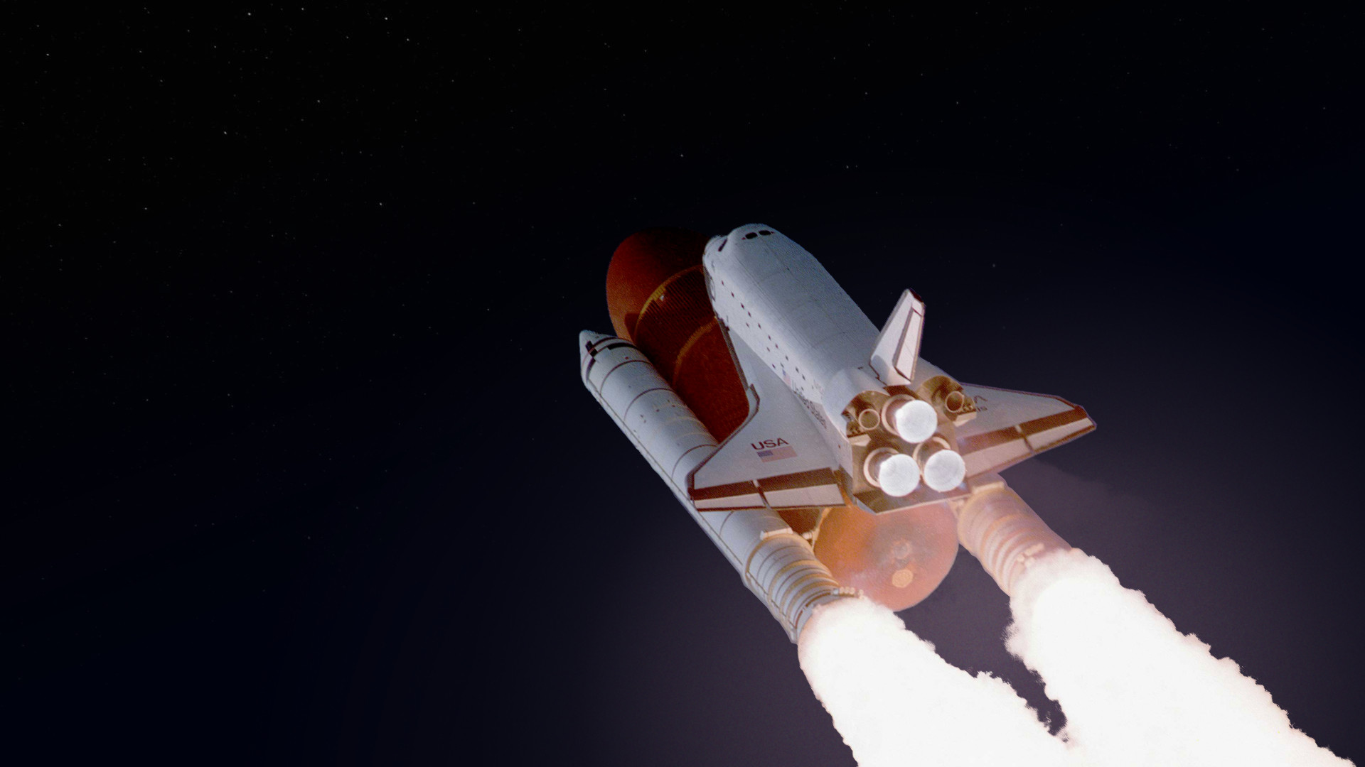 1920x1080 Space Shuttle Atlantis Wallpaper