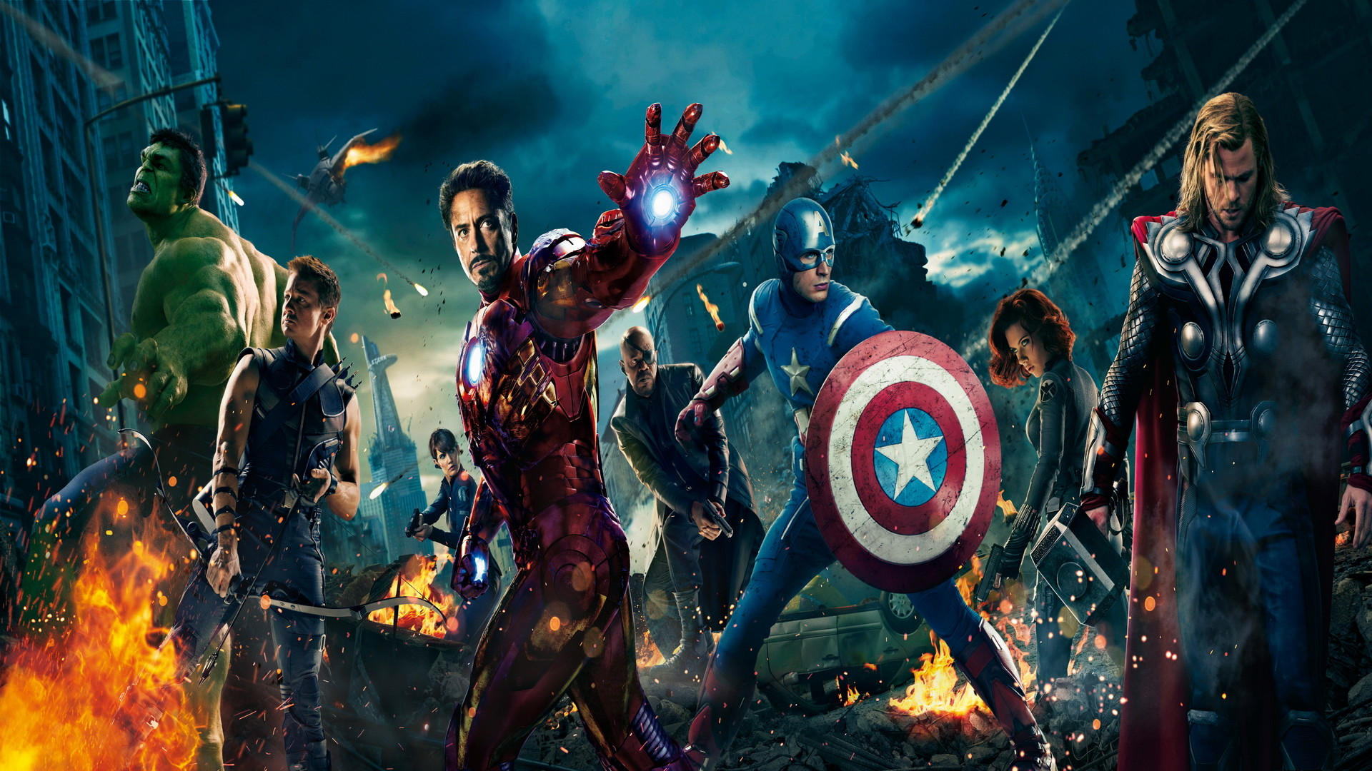 1920x1080 The Avengers HD desktop wallpaper : High Definition : Fullscreen .
