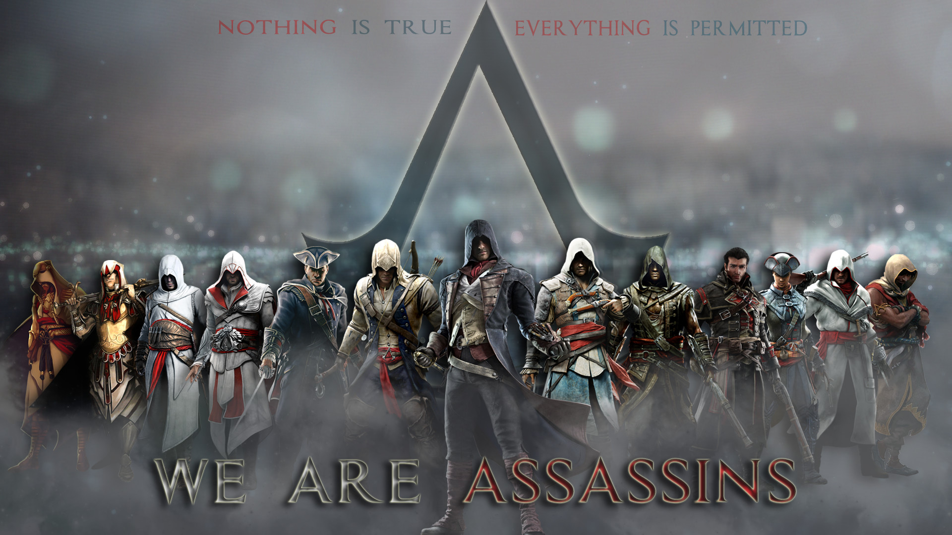 1920x1080 Assassin's Creed: Assassins Wallpaper by TrinityNexus384 Assassin's Creed: Assassins  Wallpaper by TrinityNexus384