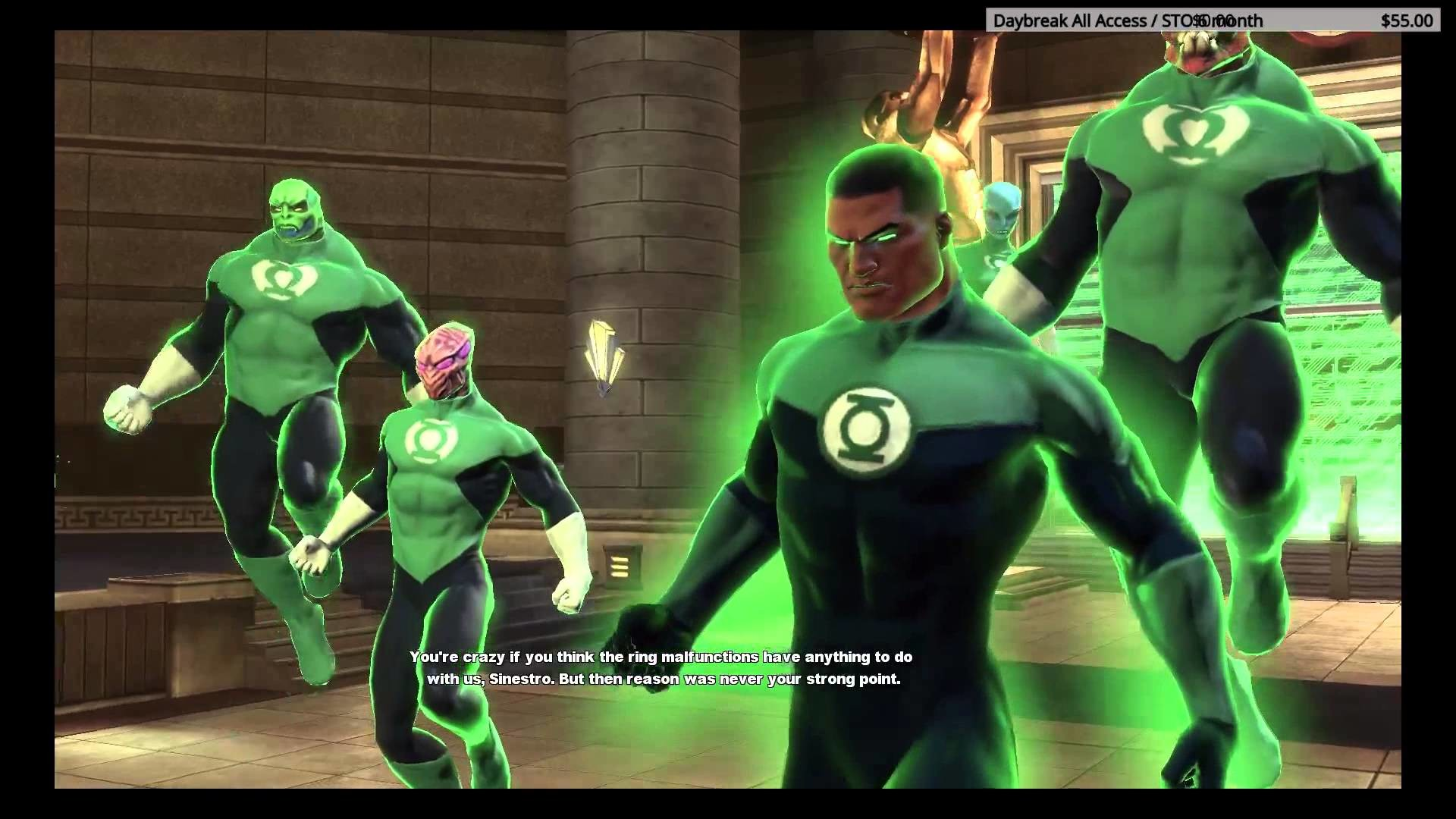 1920x1080 DCUO - Taniana (w/ Sinestro & the Sinestro Corps) Vs. John Stewart & the  Green Lantern Corps - YouTube