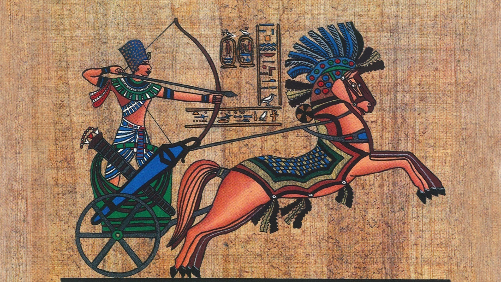 ancient egyptians To the ancient egyptians, the king was a godlike being, closely identified with the all-powerful god horus the earliest known hieroglyphic writing also dates to this period.