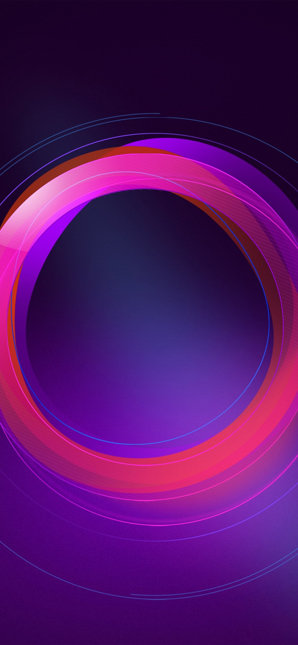 1125x2436 iPhoneXpapers.com | iPhone X wallpaper | vw26-circle-abstract-purple -pattern-background