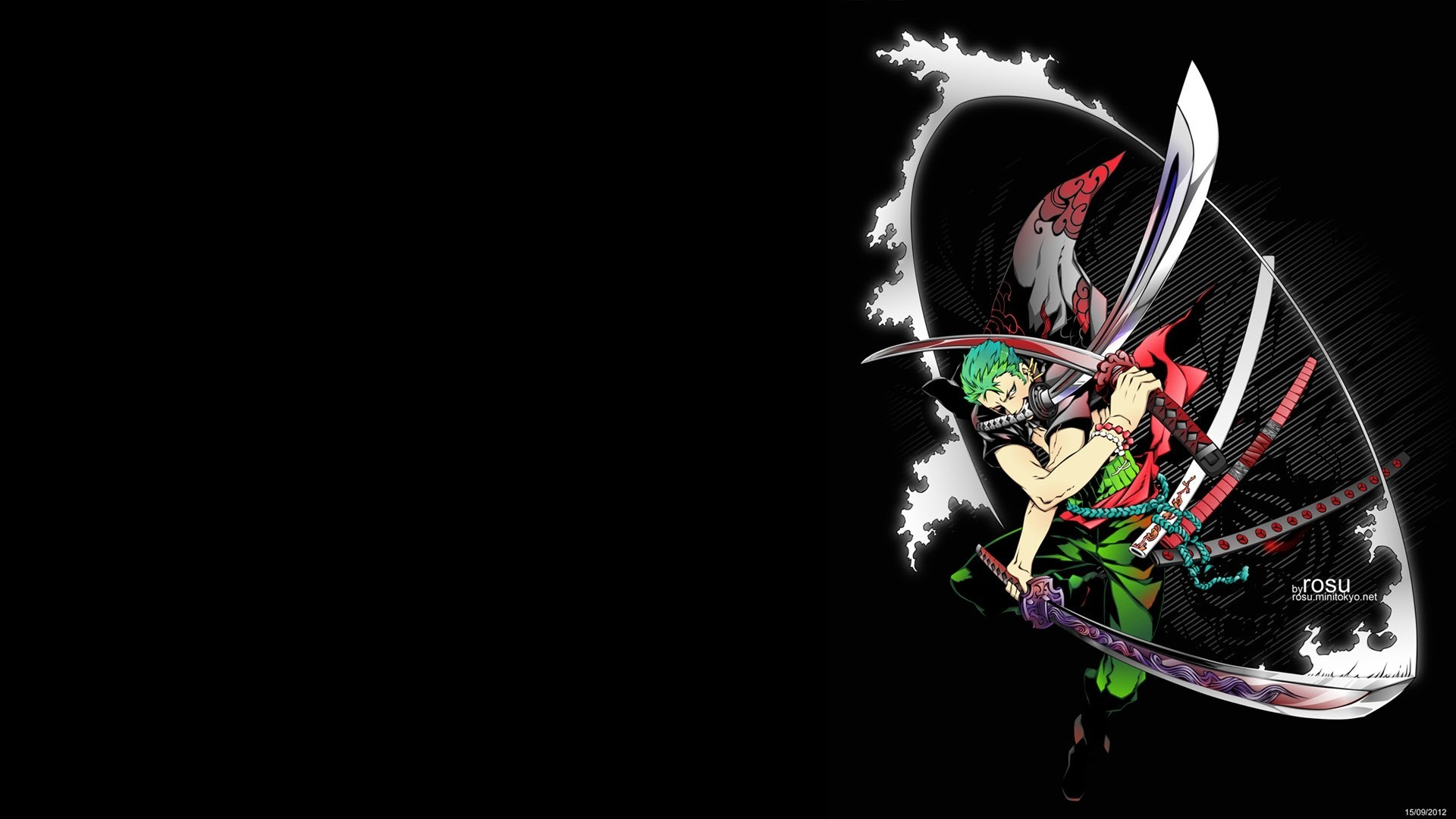 1920x1080 Roronoa Zoro Wallpapers ①