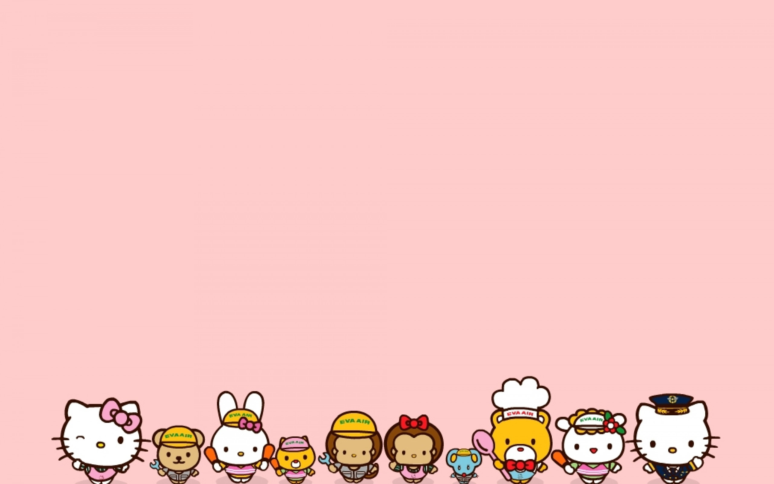 2560x1600 Hello Kitty Wallpaper - All Friends And Family | HD Wallpapers For .
