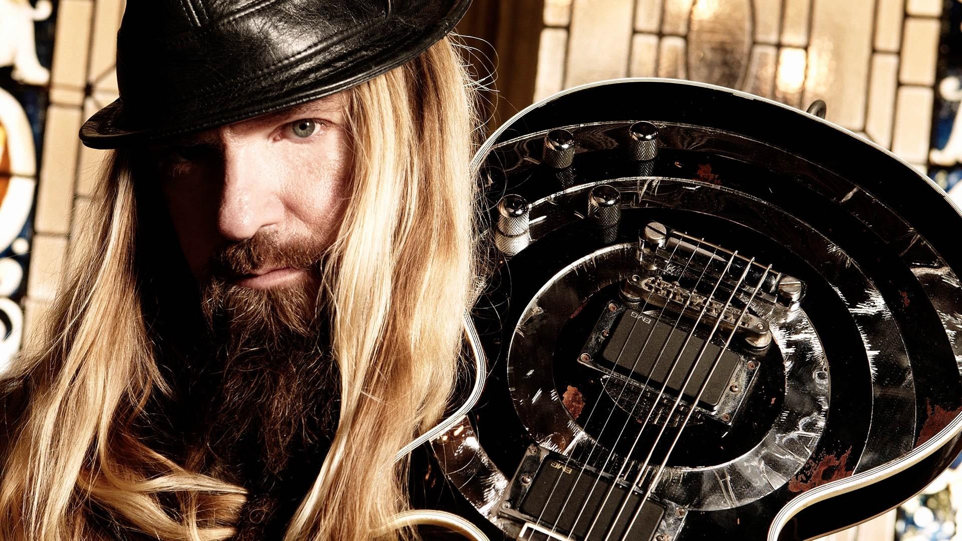 Wallpaper zakk wylde guitar hat hair beard