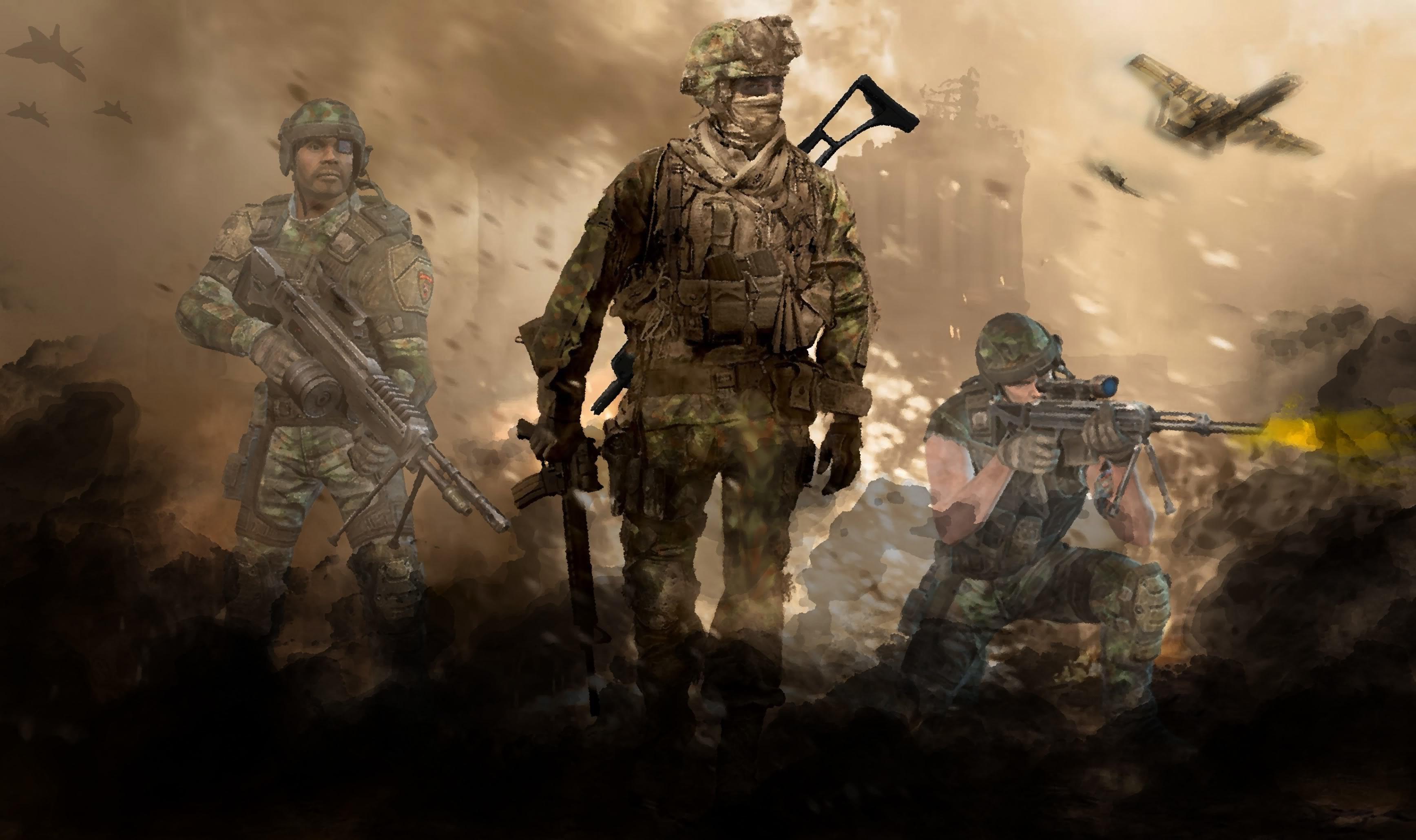 Modern Warfare 2 Background 75 Images
