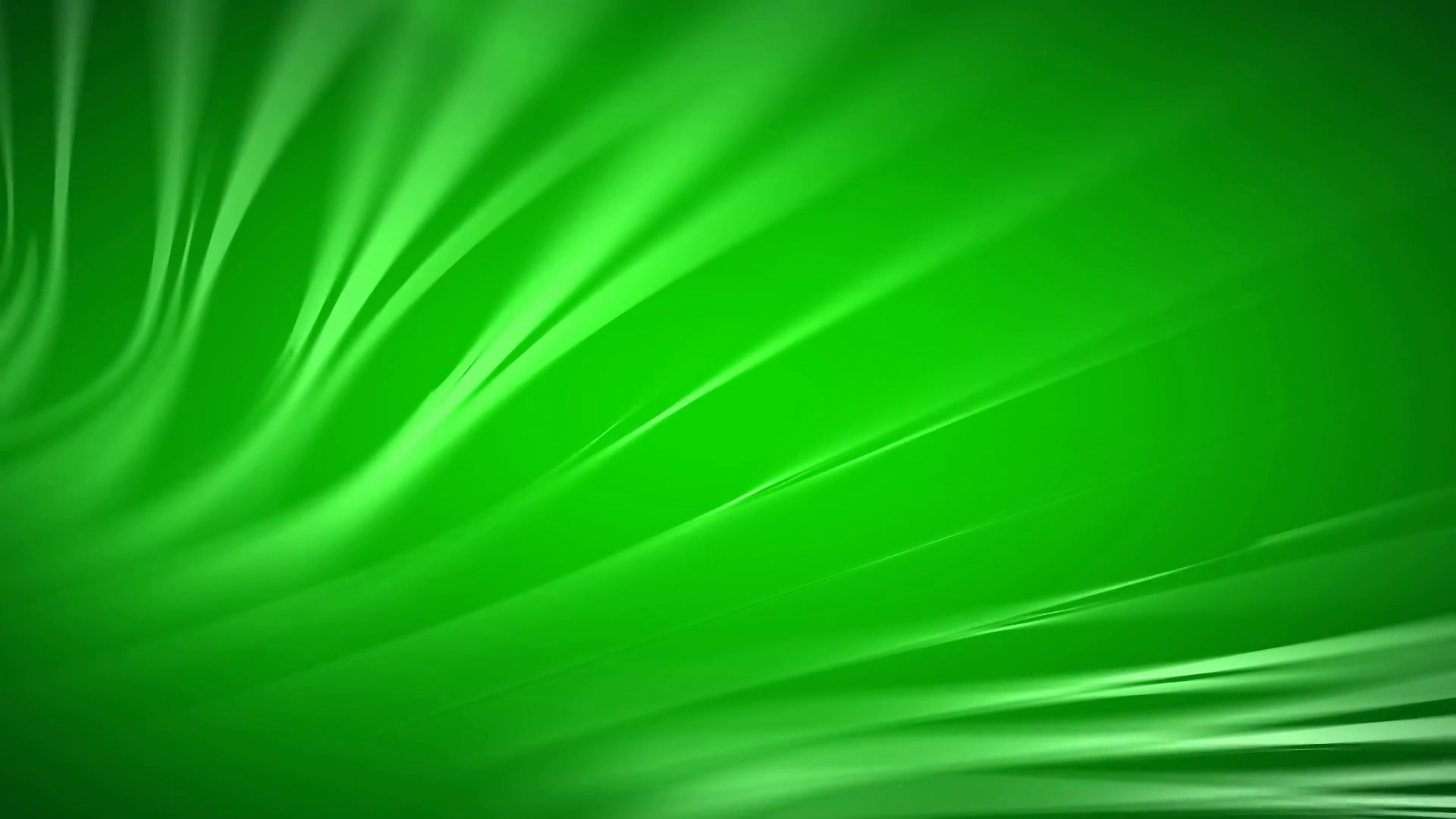 1920x1080 green wavy abstract motion background, PAL