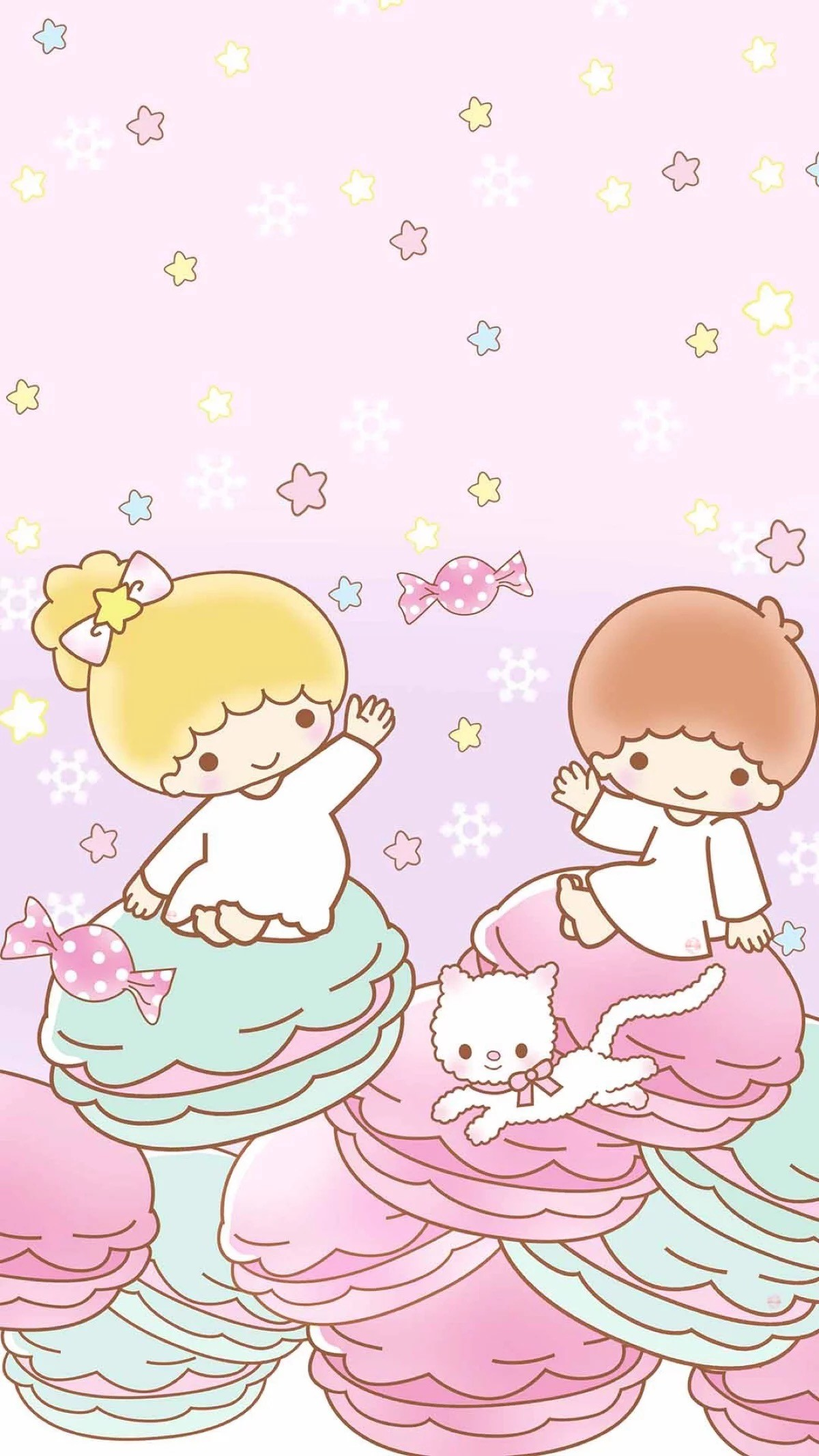 1200x2133 Little Twin Stars Download 1920x1080 Rilakkuma Watermelon Wallpaper