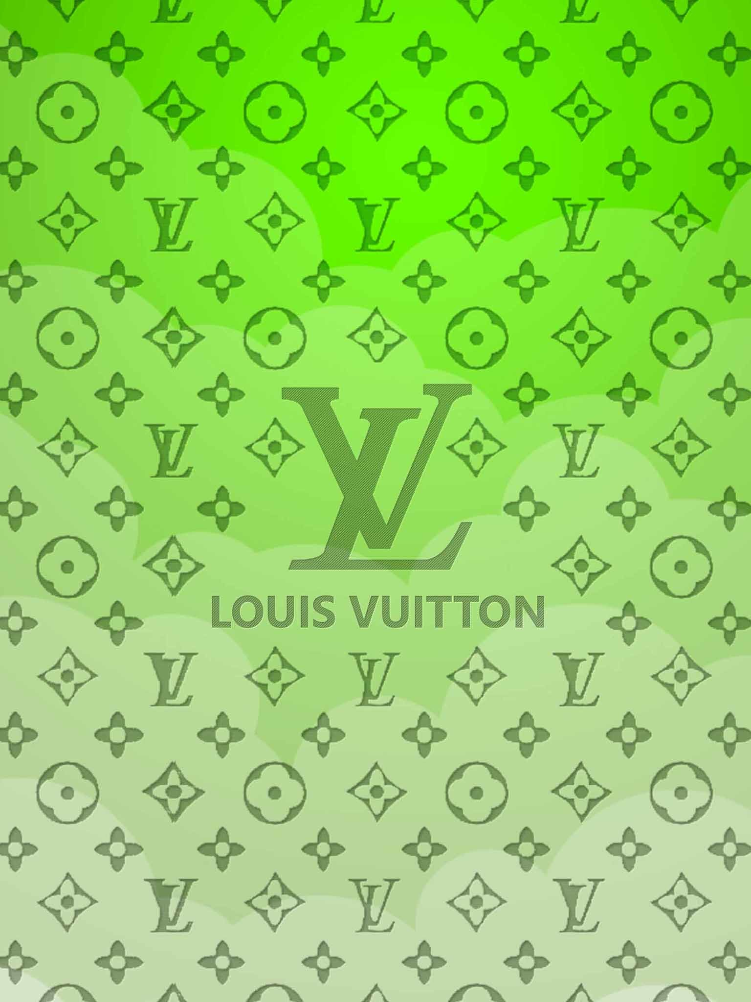 Lime Green Louis Vuitton Wallpaper
