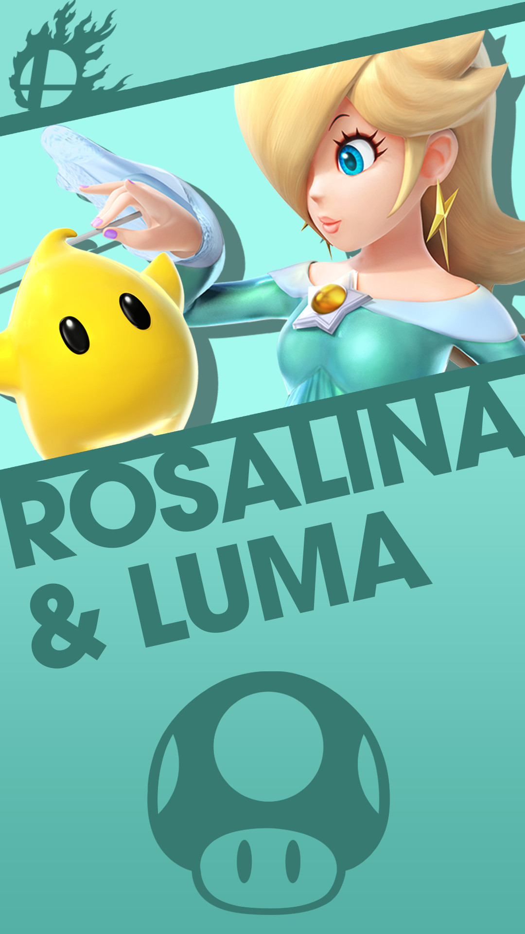 1080x1920 Phone Wallpaper by MrThatKidAlex24 Rosalina and Luma Smash Bros. Phone  Wallpaper by MrThatKidAlex24