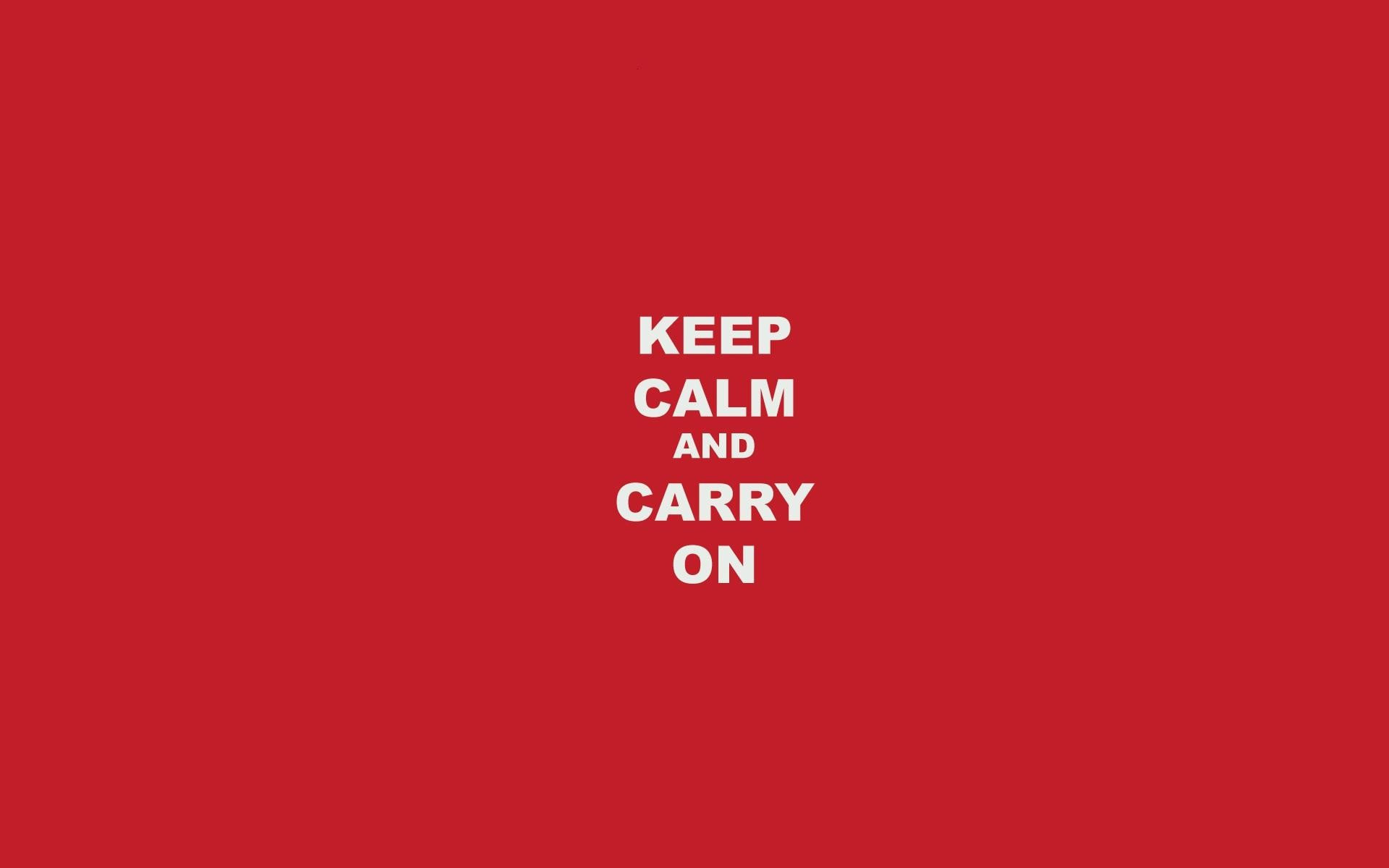 1920x1200 Keep Calm Carry On wallpaper thumb