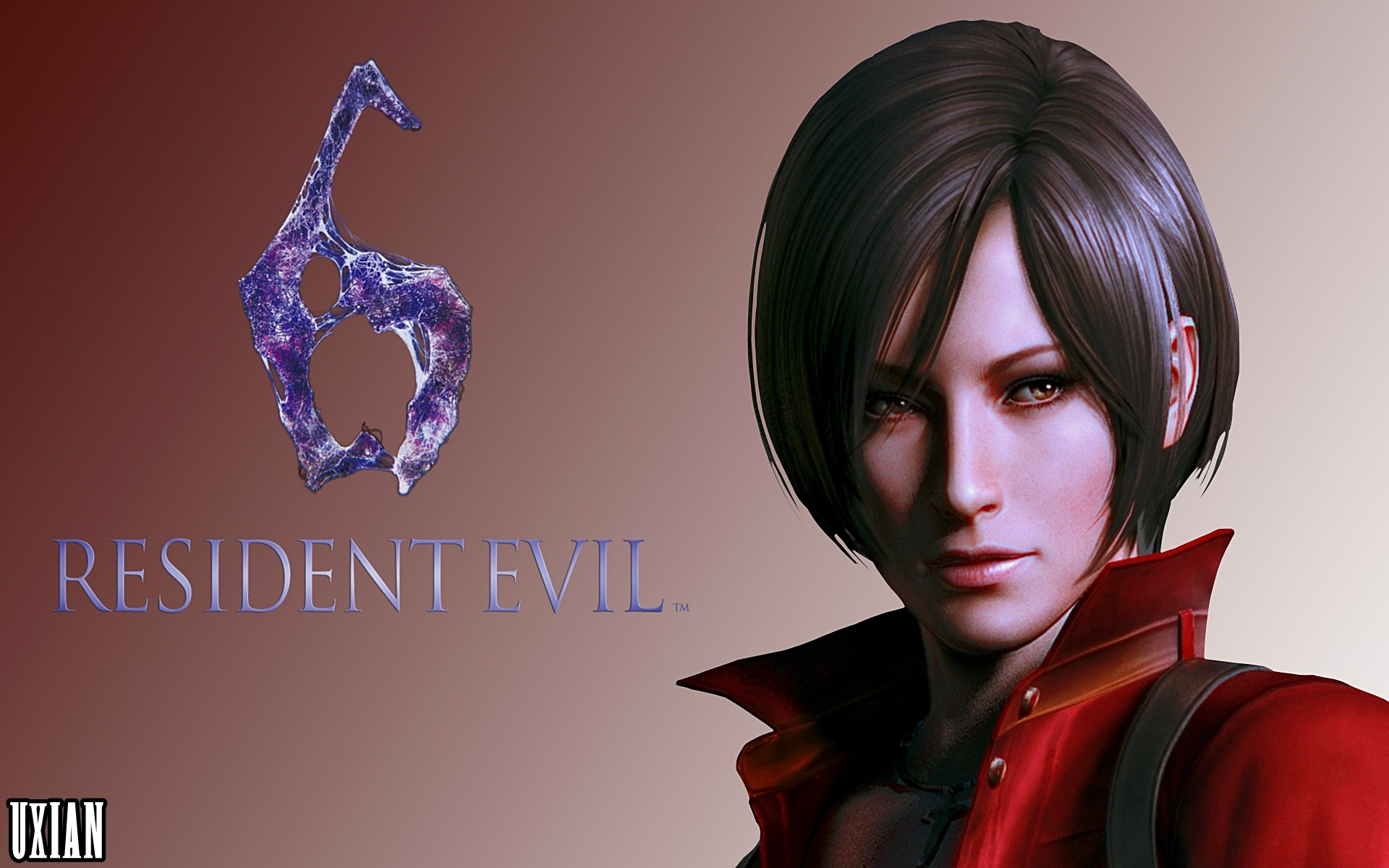 1920x1200 ... Ada Wong RE6 HD by UxianXIII