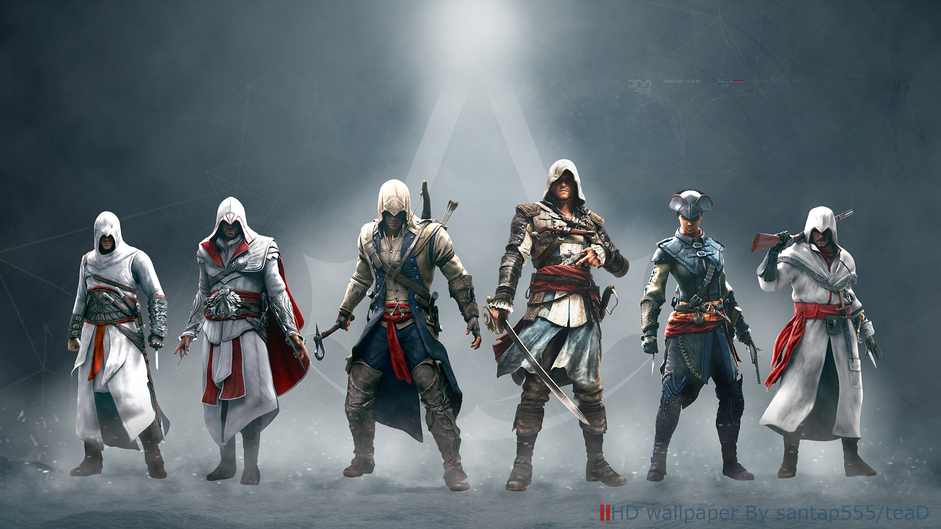 1920x1080 ... Assassin's Creed wallpaper by teaD by santap555