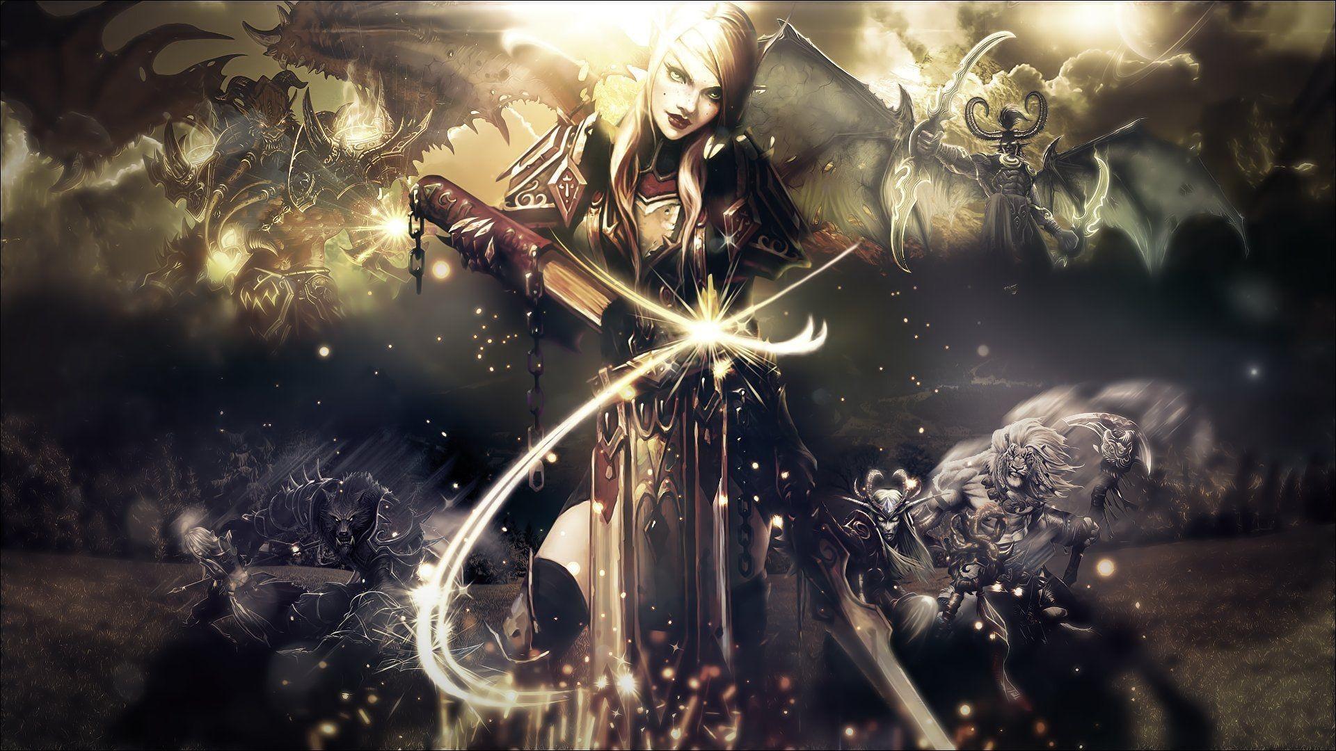 World Of Warcraft Priest Wallpaper 73 Images