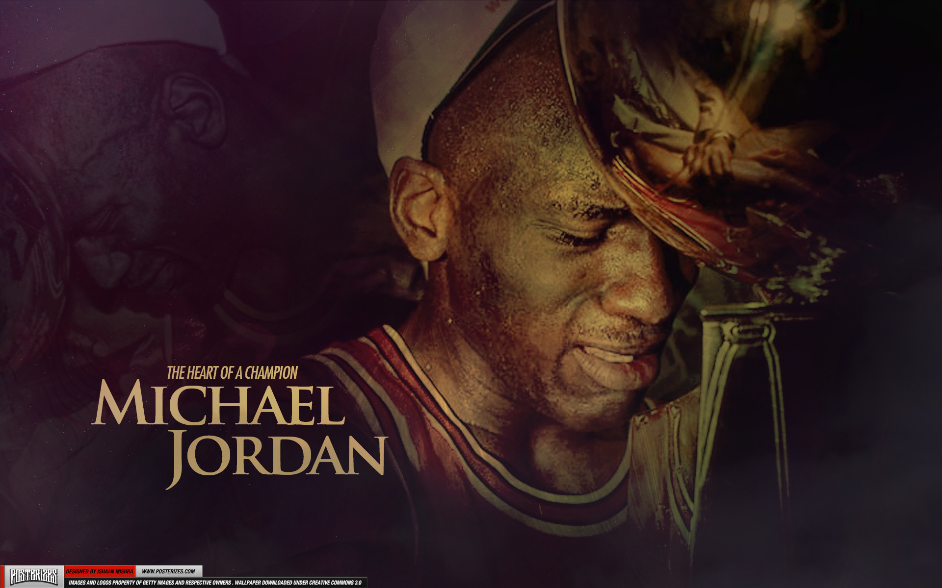 1920x1200 Michael Jordan – 'Heart of a Champion' (WALLPAPER)