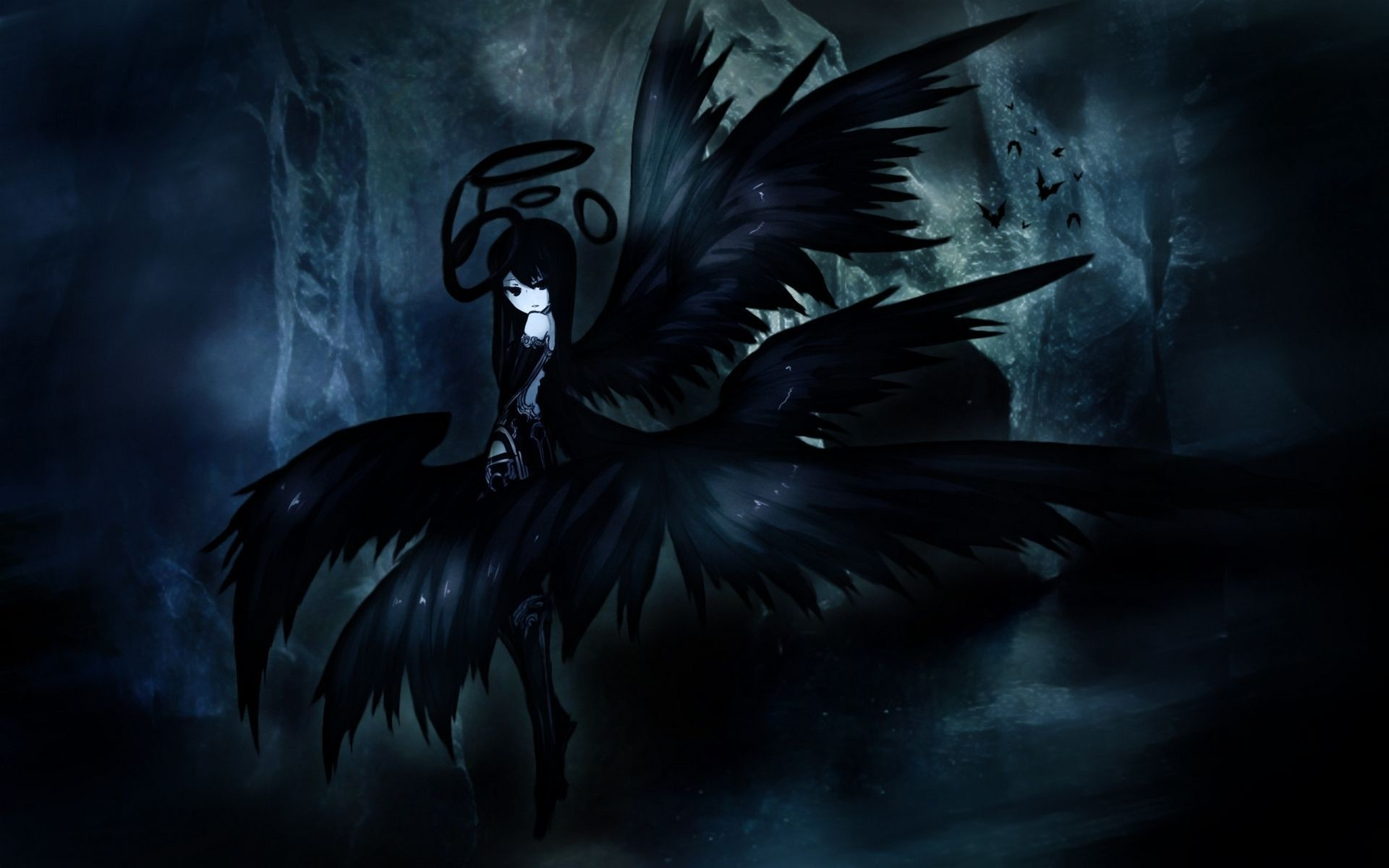 Dark anime wallpaper hd 66 images - Dark angel anime wallpaper ...
