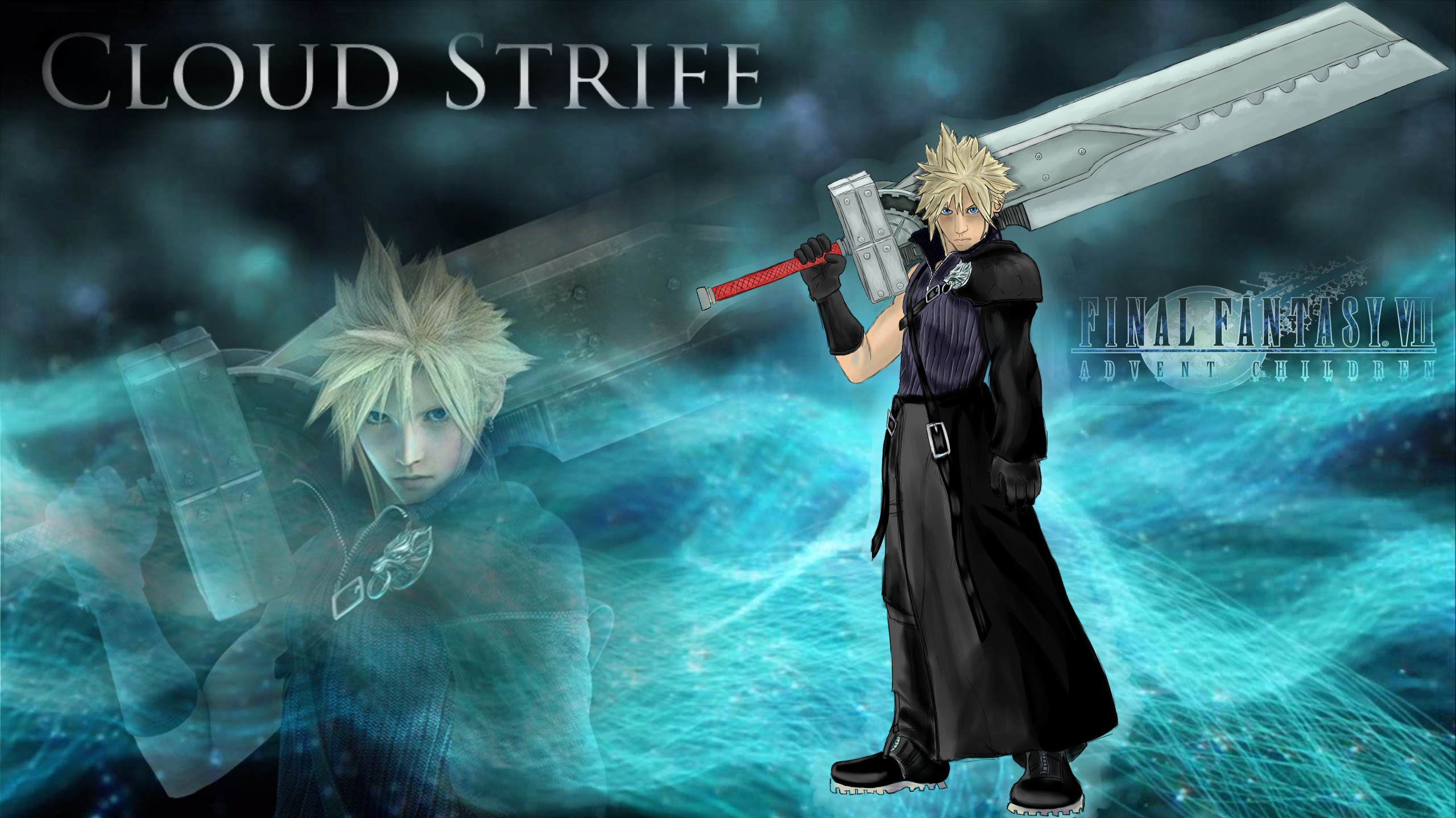 2560x1440 Cloud Strife Wallpaper 2 by Robsa990 Cloud Strife Wallpaper 2 by Robsa990