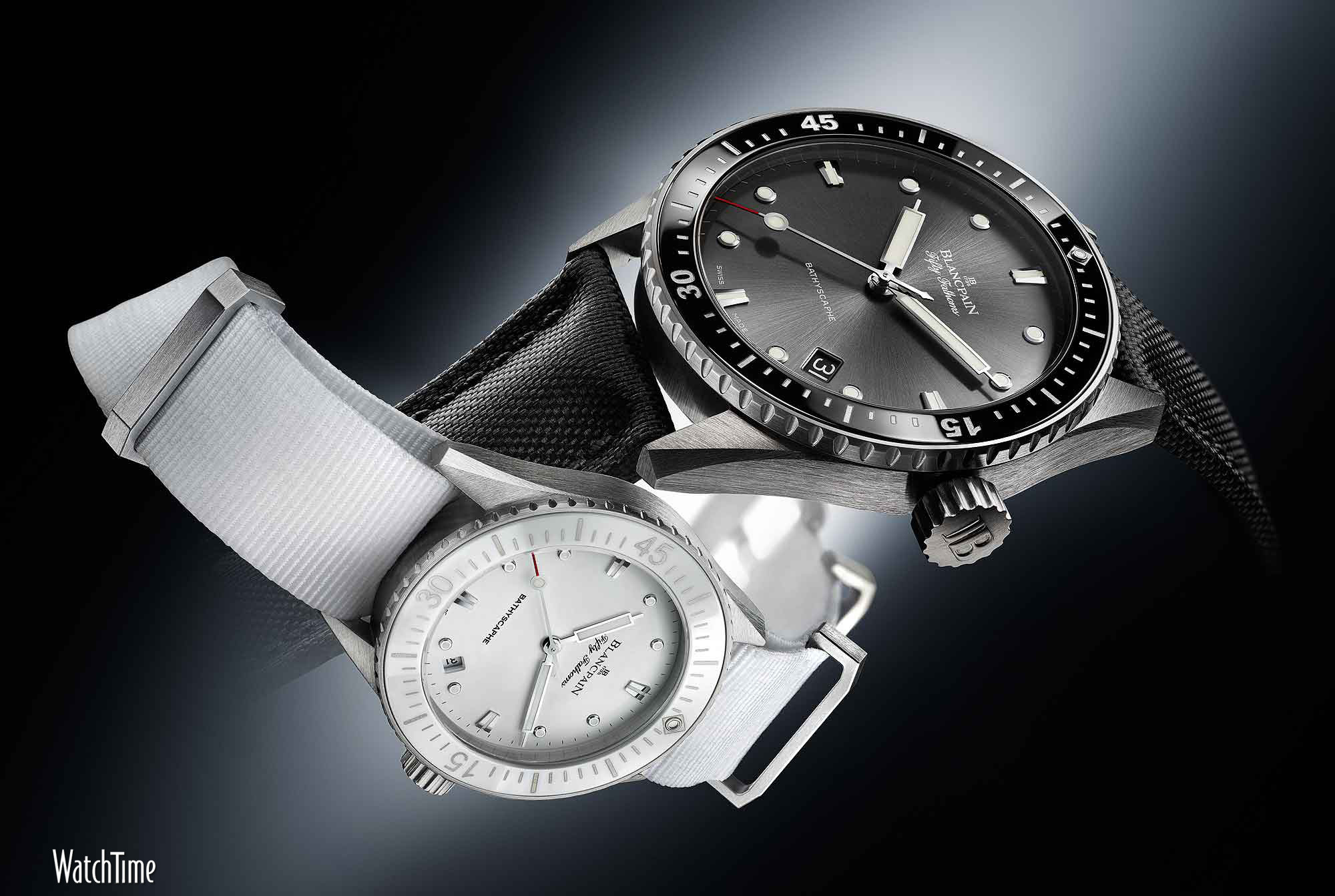 2000x1343 Blancpain Fifty Fathoms Bathyscaphe - men's and ladies'