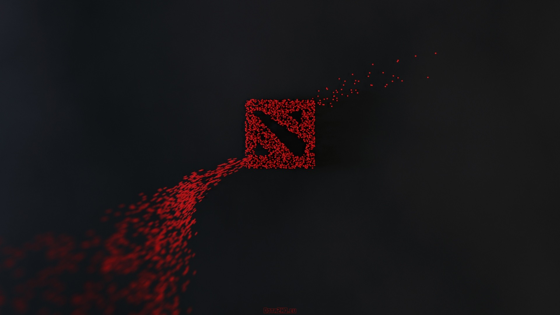 1920x1080  Wallpaper dota 2, dota, art, logo