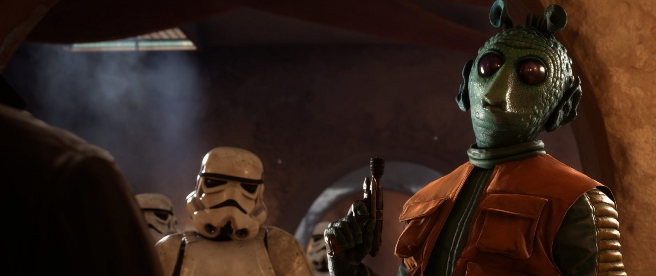 2560x1080  Wallpaper star wars battlefront, outer rim, dice, electronic arts