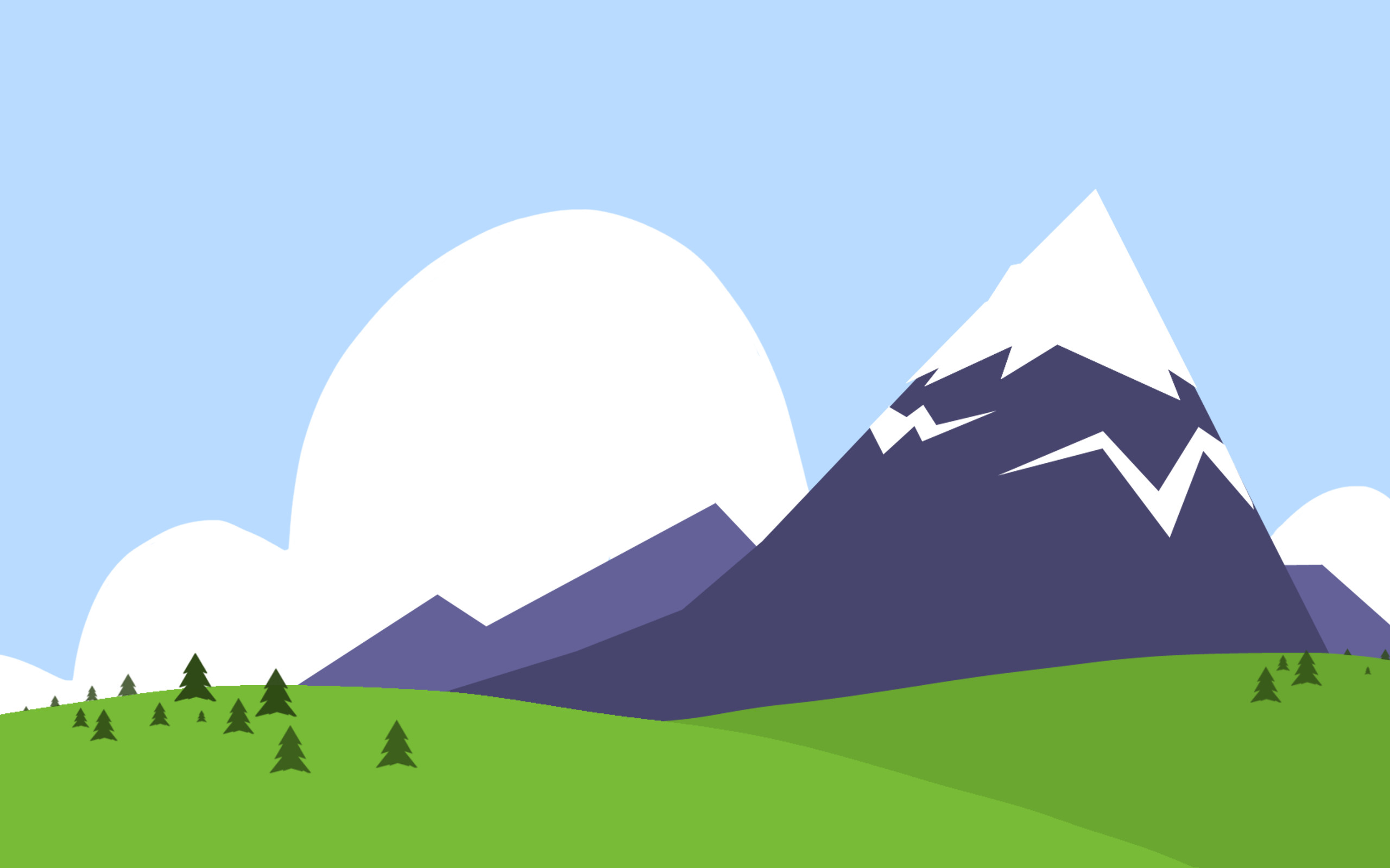 2560x1600 Mountain Background Clipart