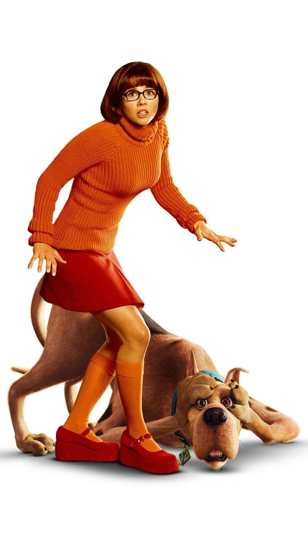 1080x1920 Velma Dinkley and Scooby-Doo Mobile Wallpaper 11902