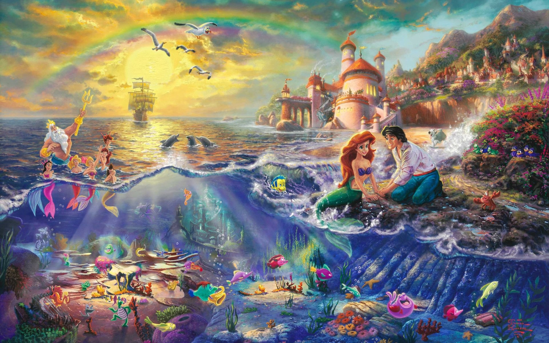 The Little Mermaid Wallpapers 60 Images