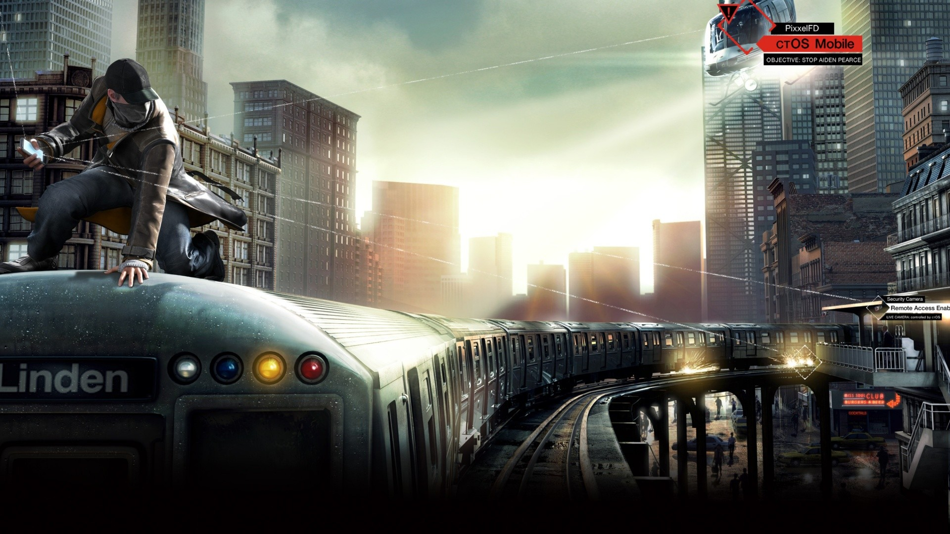 1920x1080 The Train Watch Dogs
