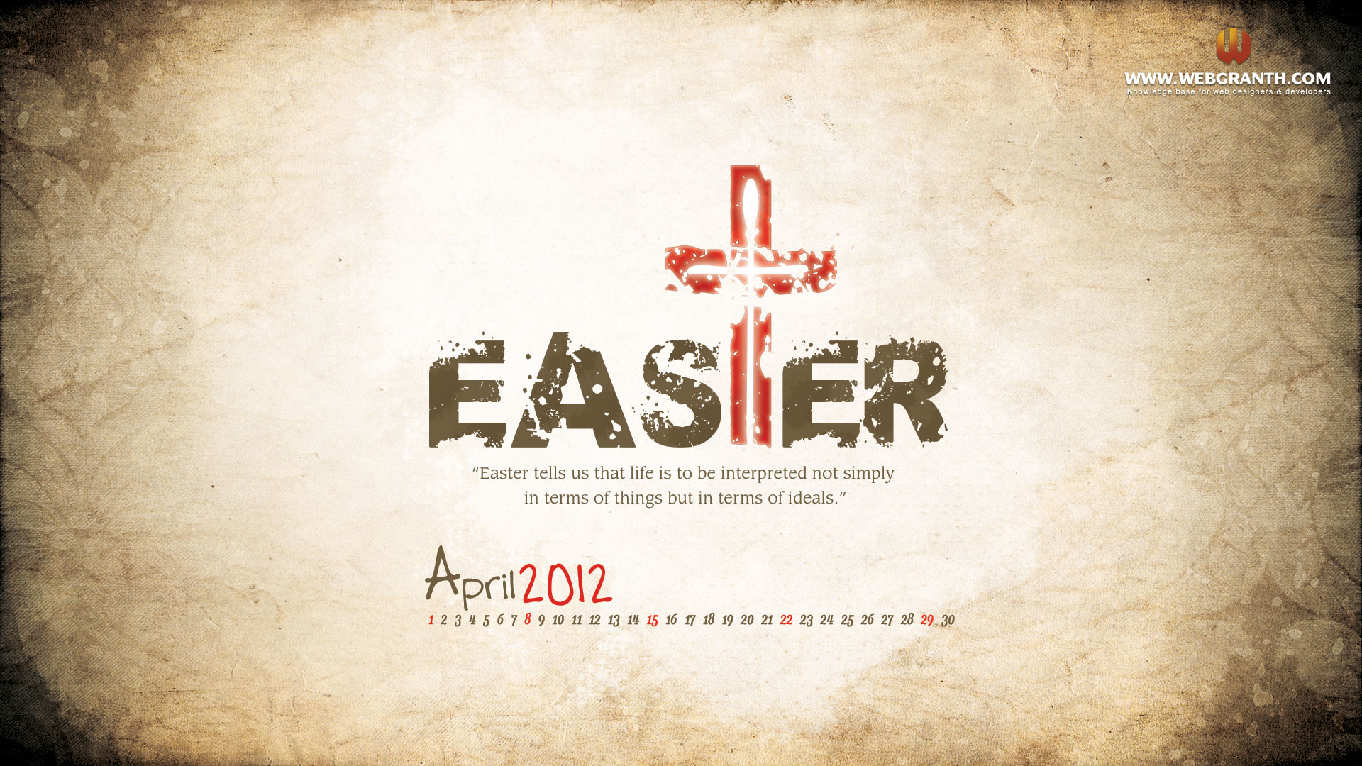 1920x1080 Cross easter wallpaper 2012 pictures, images