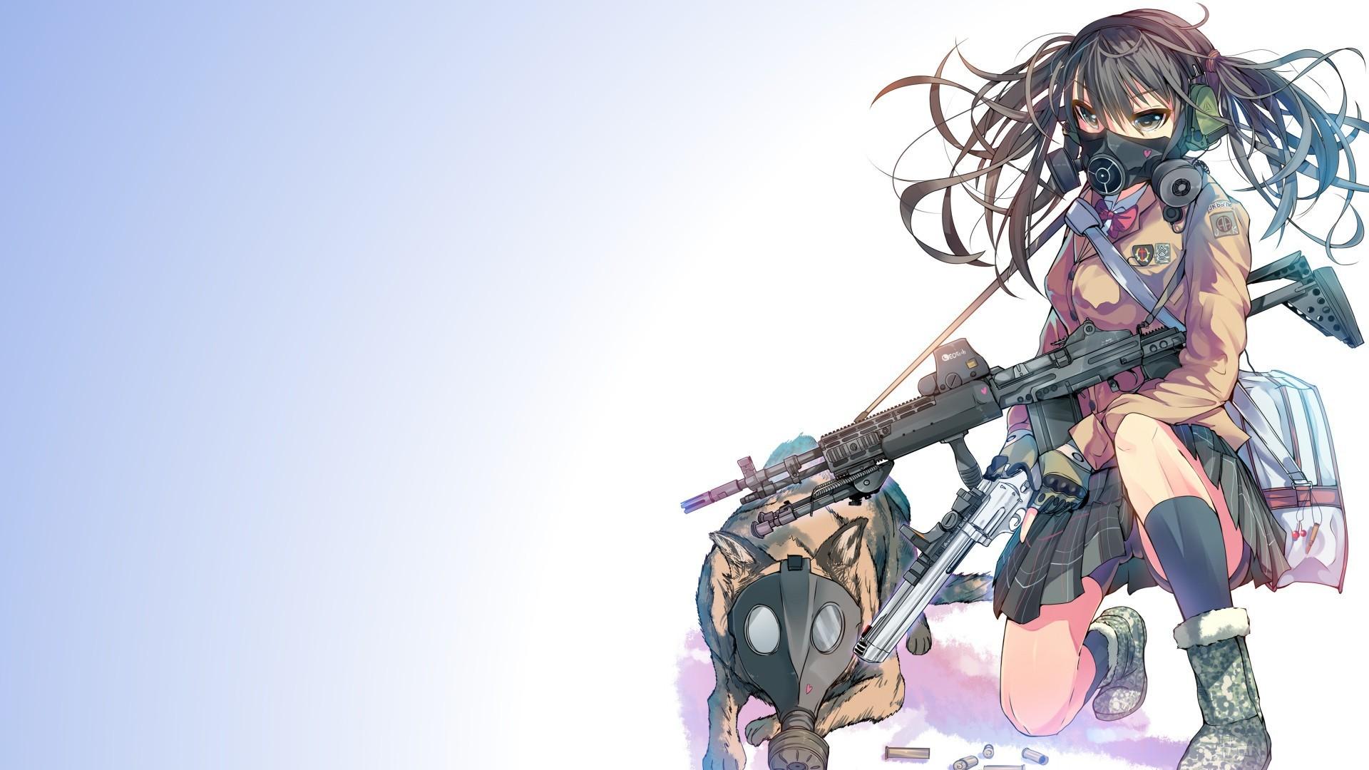 Anime gun wallpaper 61 images - Anime 1920x1080 ...