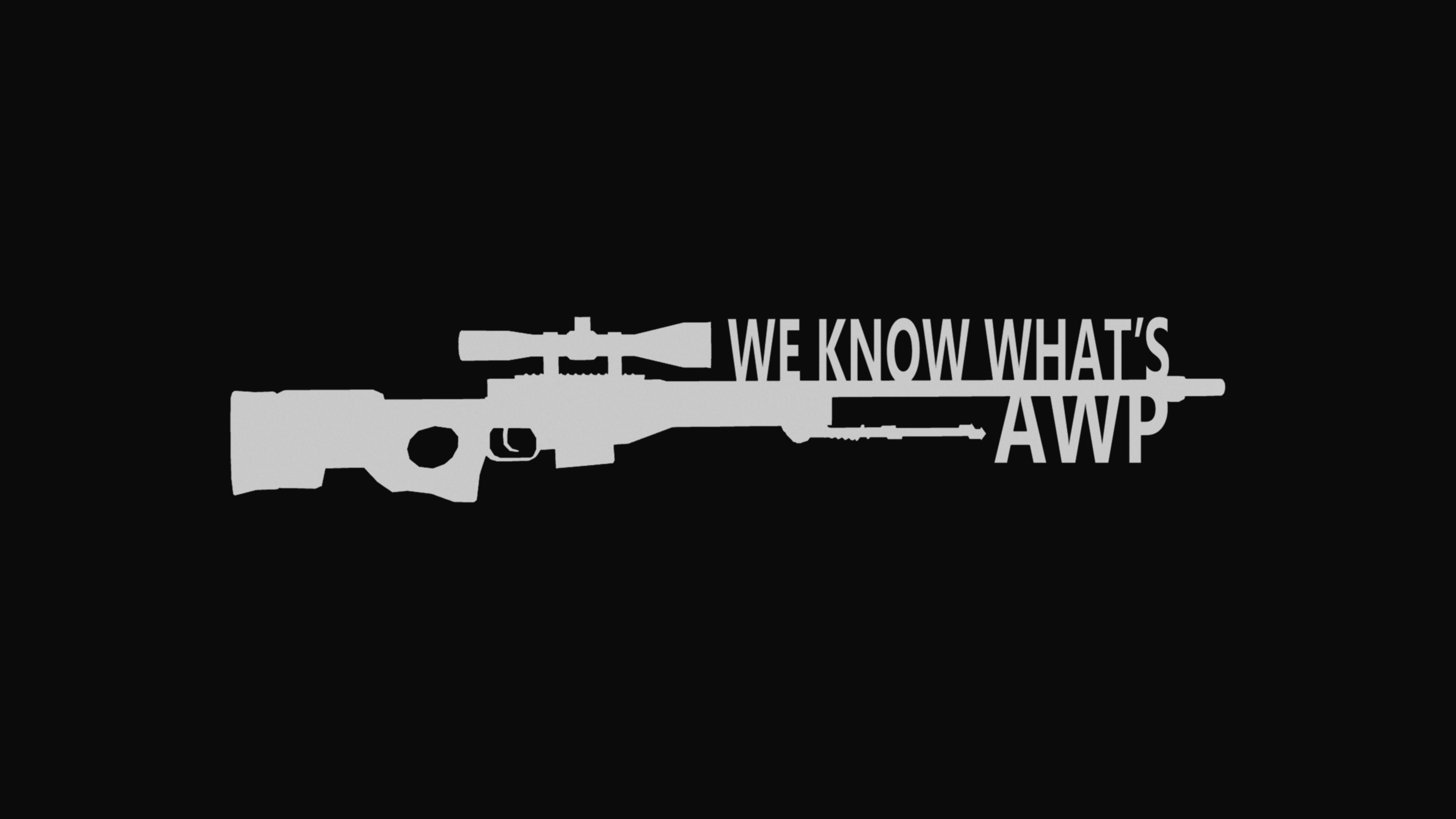3840x2160 We Know What's AWP CSGO Wallpaper by WeAreFine on DeviantArt
