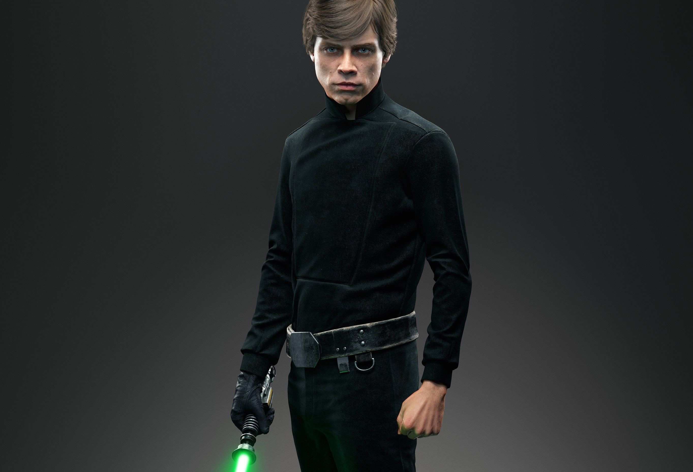 2726x1856 Wallpaper Star wars, Battlefront, Jedi, Luke skywalker