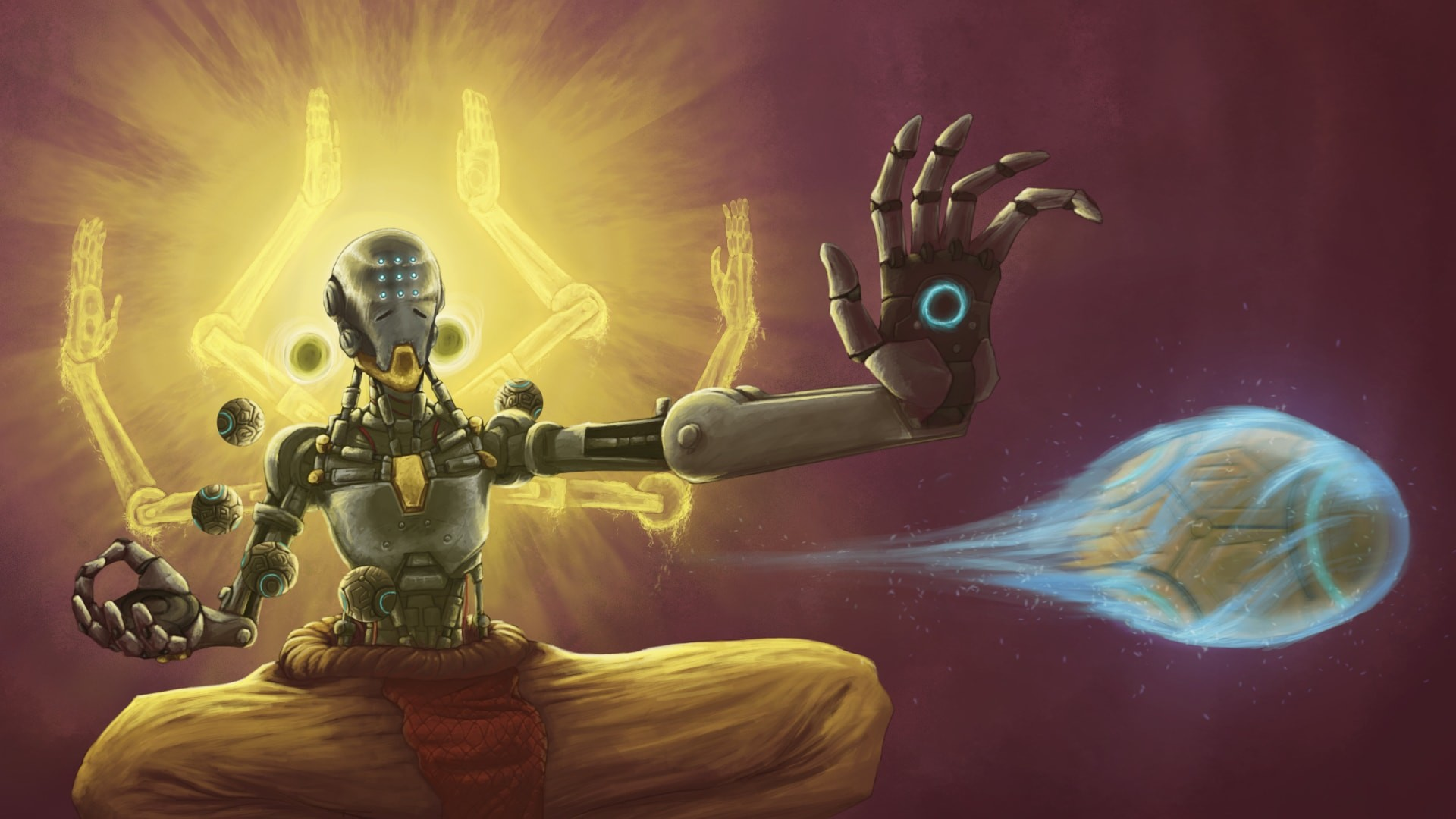 1920x1080 48 Zenyatta (Overwatch) HD Wallpapers | Backgrounds - Wallpaper .
