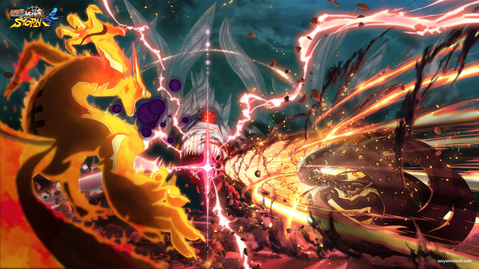 1920x1080 Video Game - Naruto Shippuden: Ultimate Ninja Storm 4 Video Game Nine Tails  Eight Tails