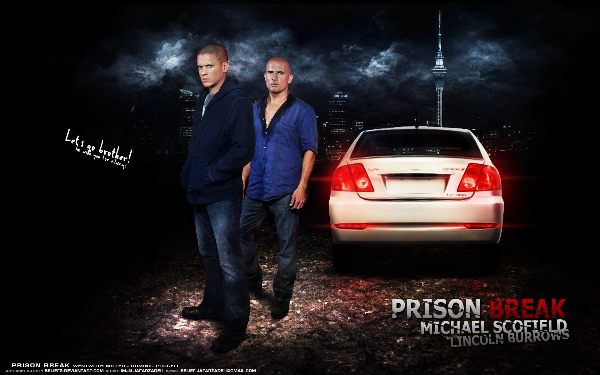 1920x1200 #10 Michael Scofield And Lincoln Burrows &