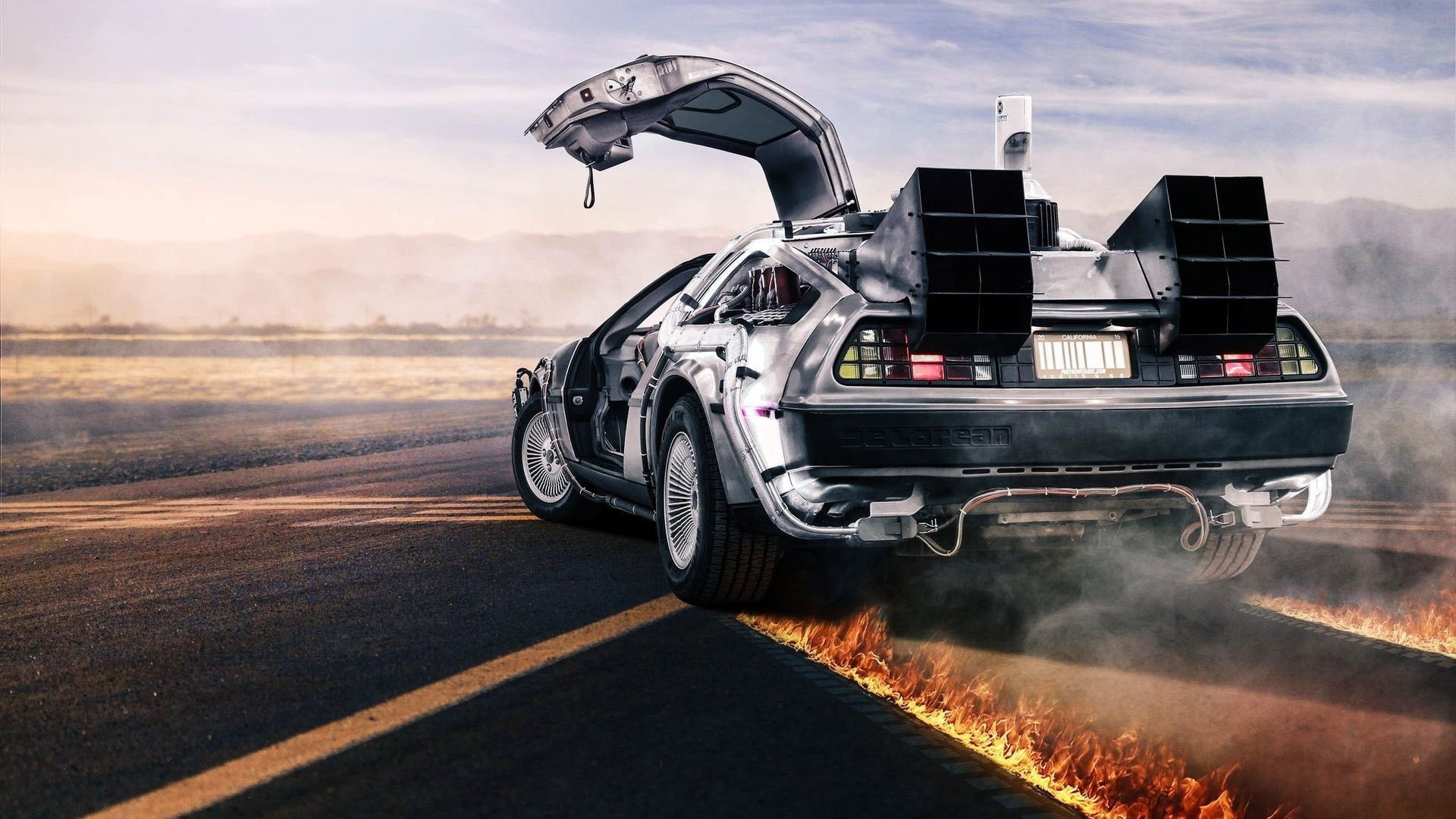 1920x1080 car, Back To The Future, DeLorean Wallpapers HD / Desktop and Mobile  Backgrounds