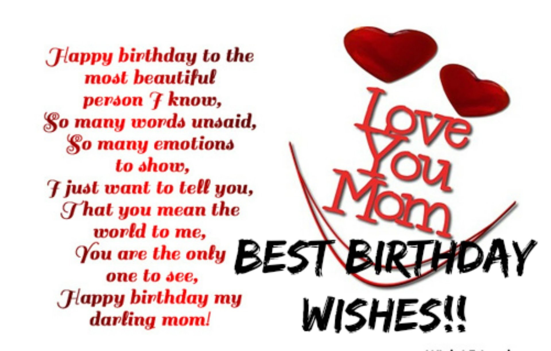 1920x1225 Best birthday wishes for mother HD wallpaper