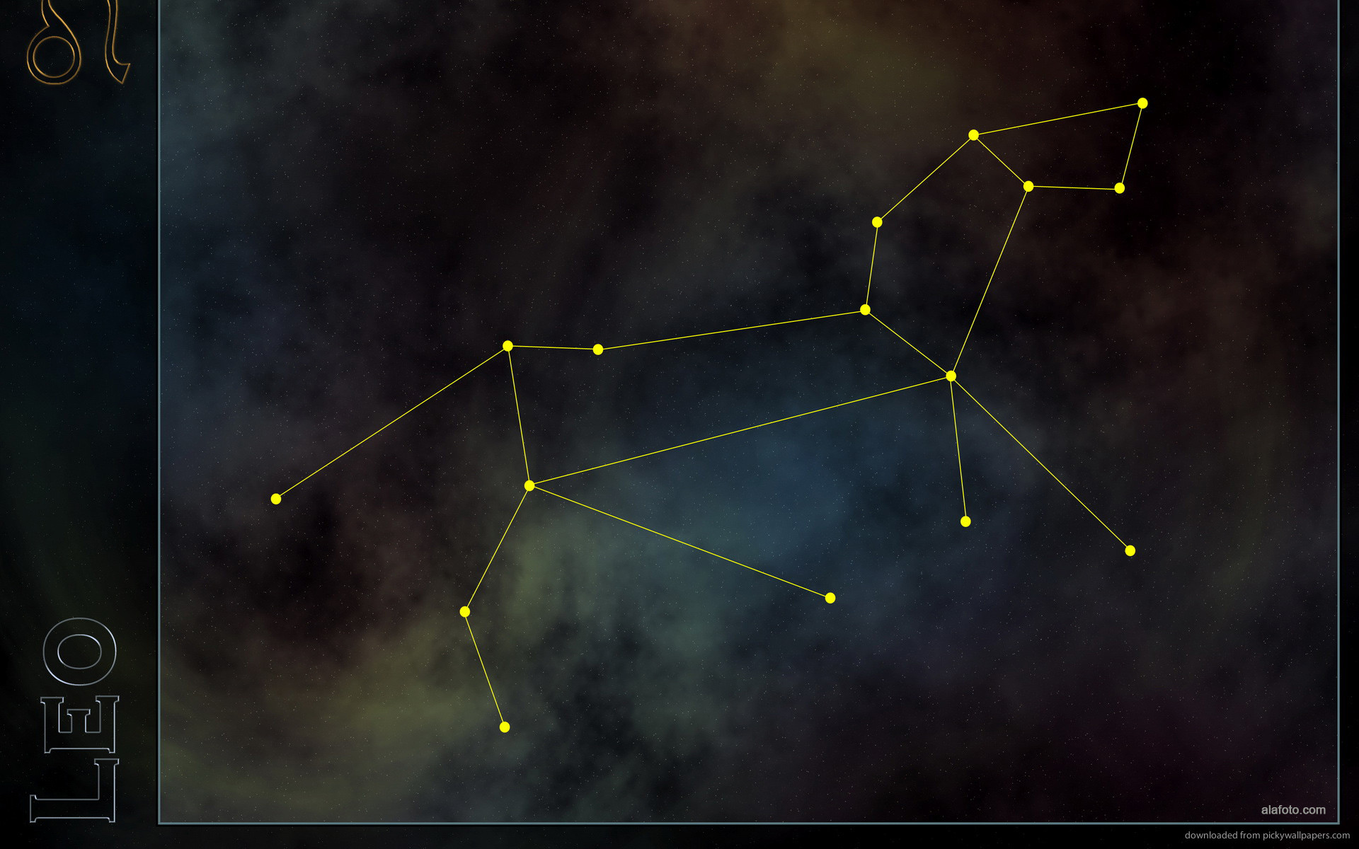 1920x1200 Leo constellation for