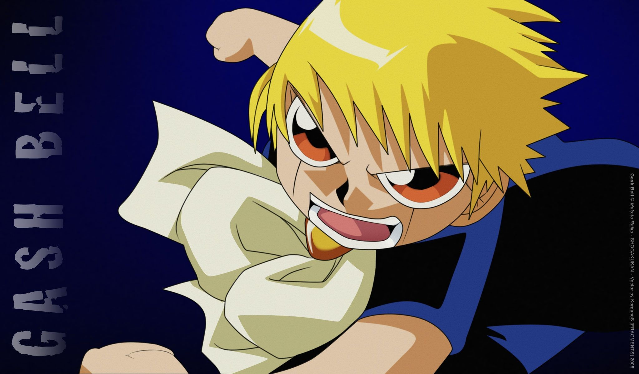 2048x1200 Amazing Gash(Zatch) Bell Pictures & Backgrounds