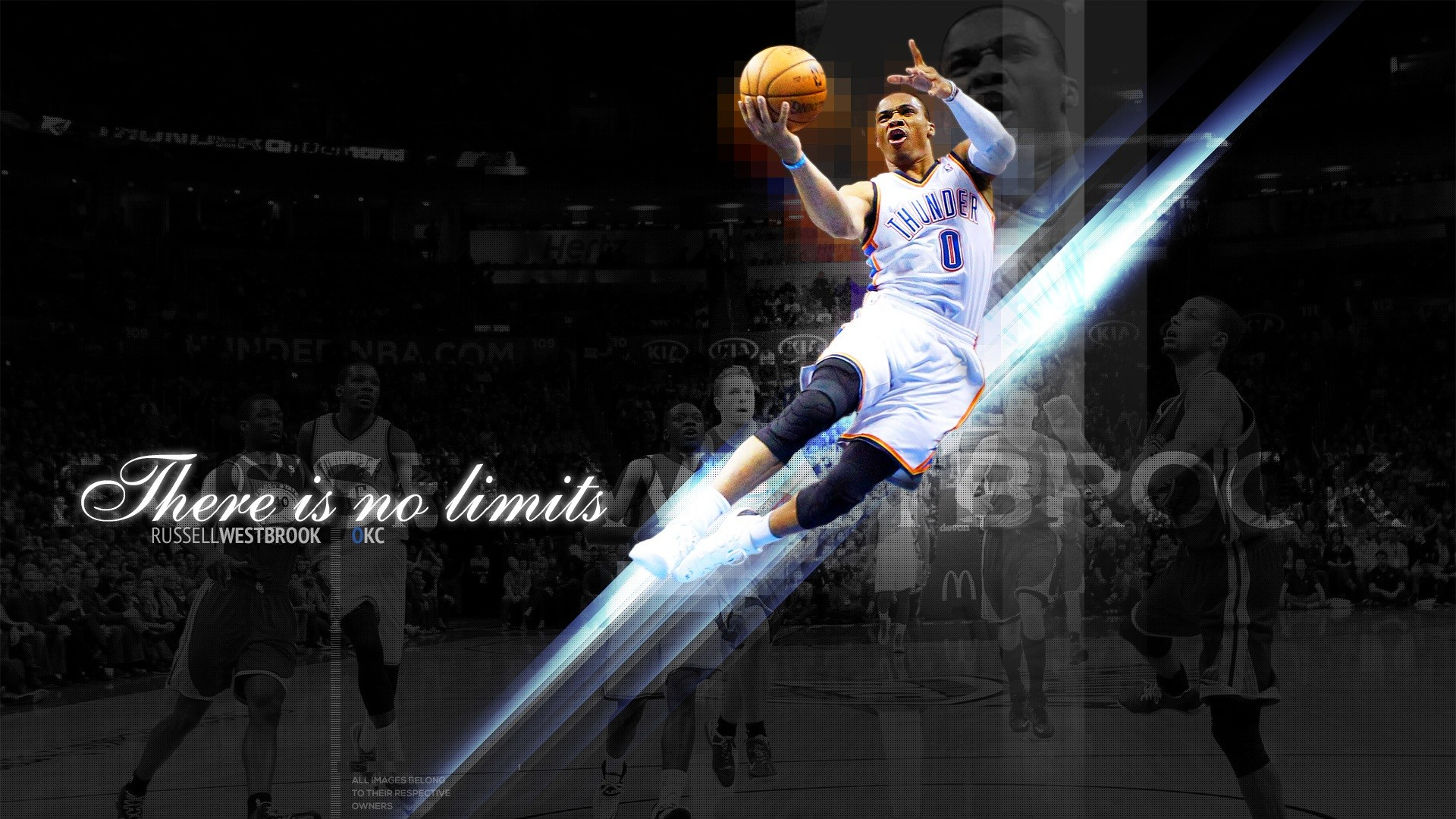Russell Westbrook Dunking Wallpaper Hd 73 Images
