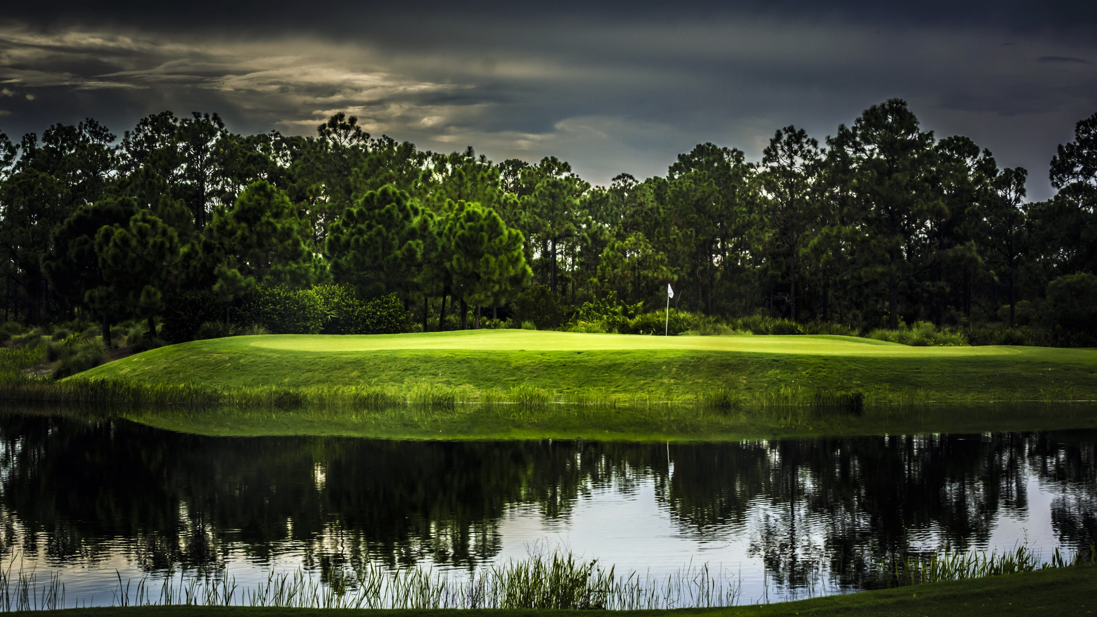3840x2160 Wallpaper: Old Corkscrew Golf Club. Ultra HD 4K