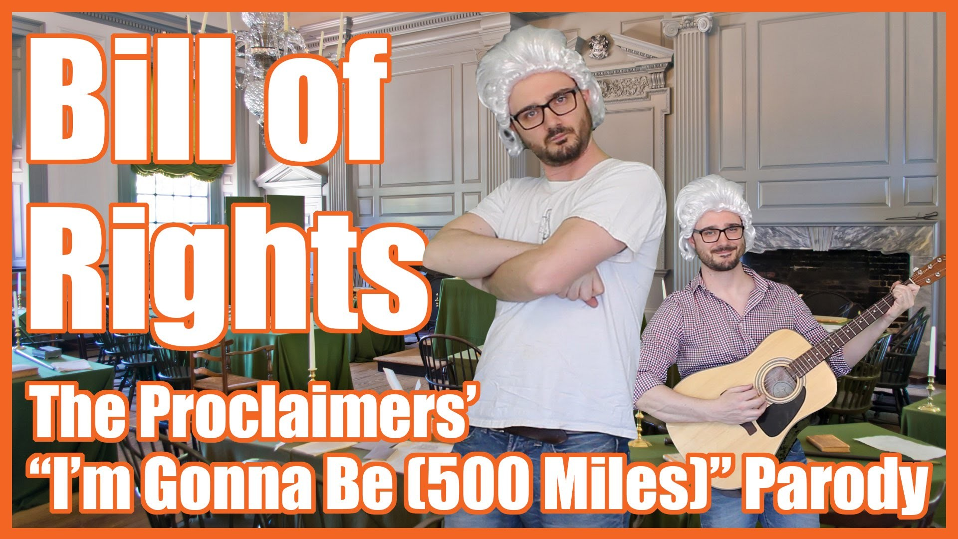 "1920x1080 Bill of Rights (""I'm Gonna Be (500 Miles)"" Parody) - @MrBettsClass - YouTube"